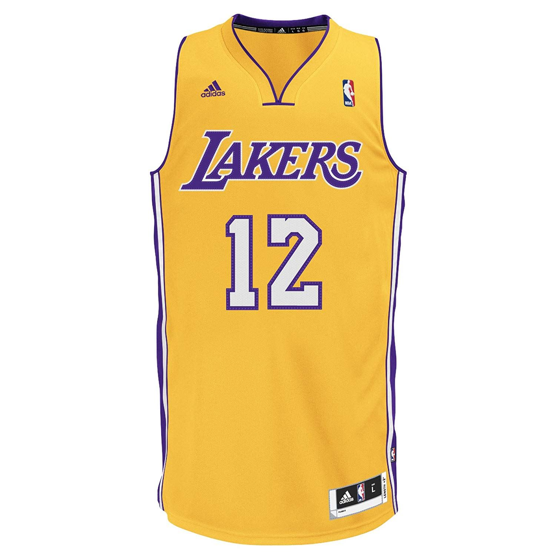 7f4bfb212dd Details about adidas MEN'S LA LAKERS SWINGMAN JERSEY HOWARD YELLOW  BASKETBALL VEST NBA