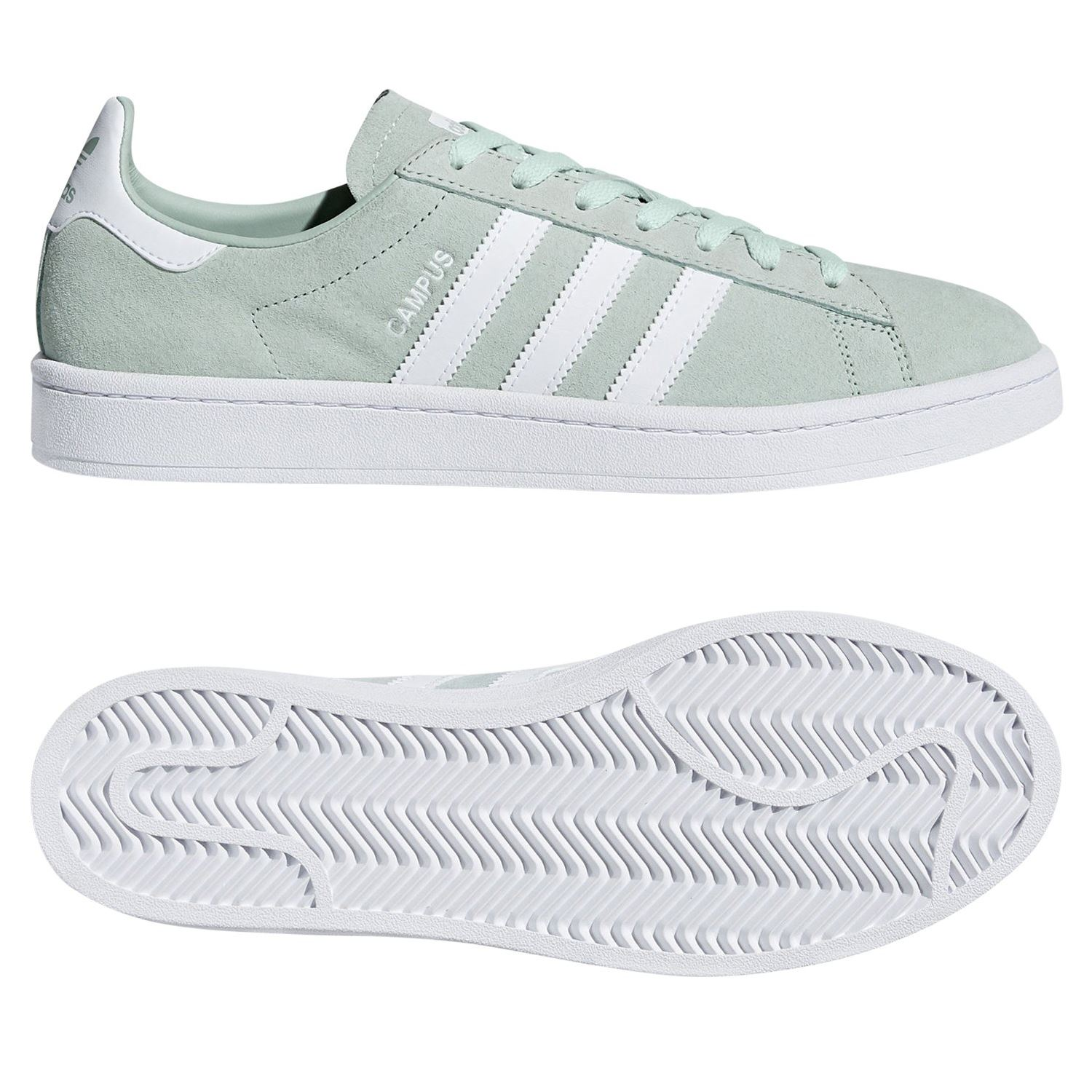 more photos bafce ddcbc CAMPUS formatori verde SNEAKERS Scarpe retrò SMART TREFOIL ADIDAS ORIGINALS  uomo