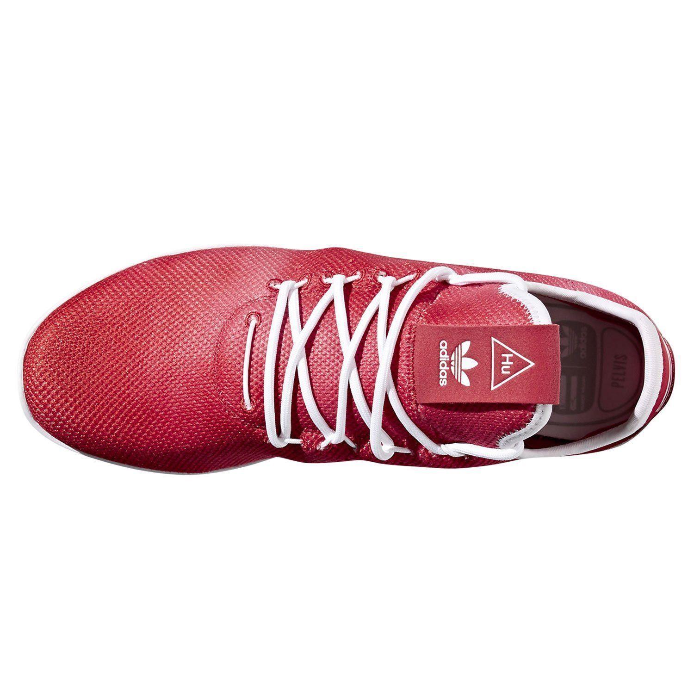 ea45cc5ae0b adidas PHARRELL WILLIAMS HU TENNIS SHOES RED SNEAKERS TRAINERS RETRO NEW  KICKS