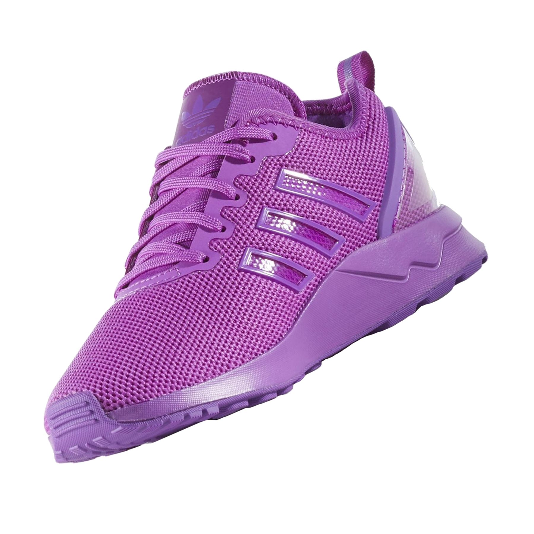 Details about adidas ORIGINALS JUNIOR ZX FLUX ADV TRAINERS PURPLE 5.5 WOMEN'S