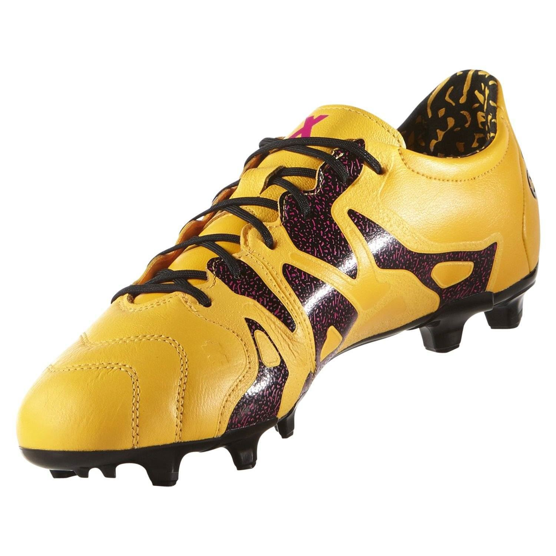 Adidas Botas de Fútbol UK 6-12 Ace X 15.2 Cuero Pista Dura Fútbol ... 6094fb289841e