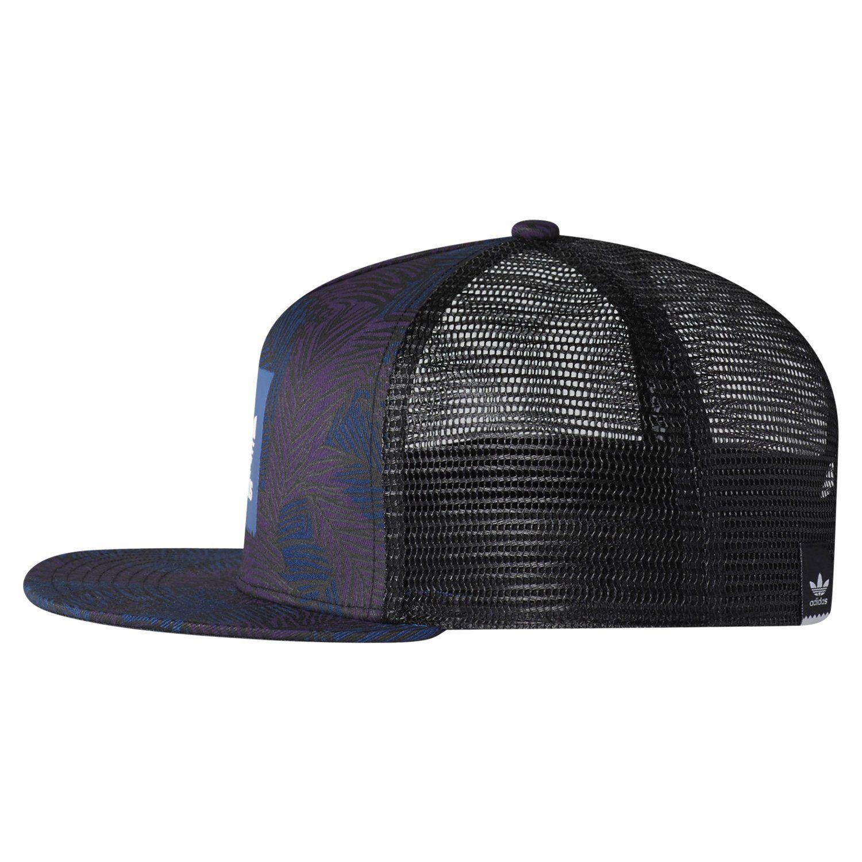separation shoes 4cc16 124a7 TRÉBOL de Adidas originales Palma trébol SNAP nuevo tapa sombrero azul  vacaciones sol hombre