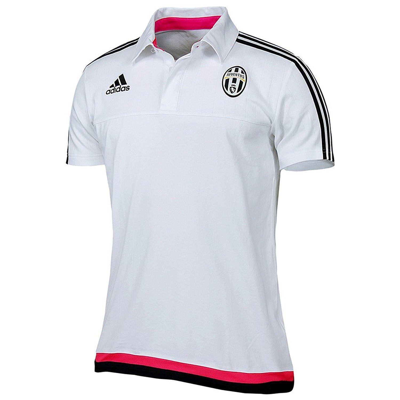 Adidas Juventus Entrenamiento Polo Blanco Rosa 2xl XXL Climacool ...