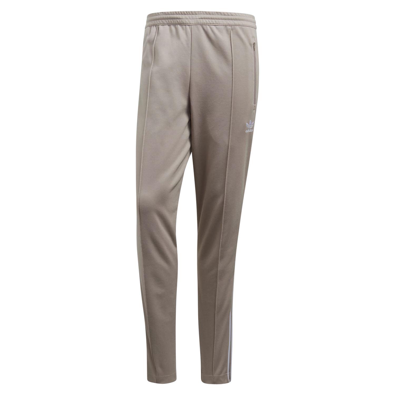 adidas ORIGINALS MEN S BECKENBAUER TRACK PANTS BEIGE RETRO VINTAGE JOGGERS  NEW 213724137