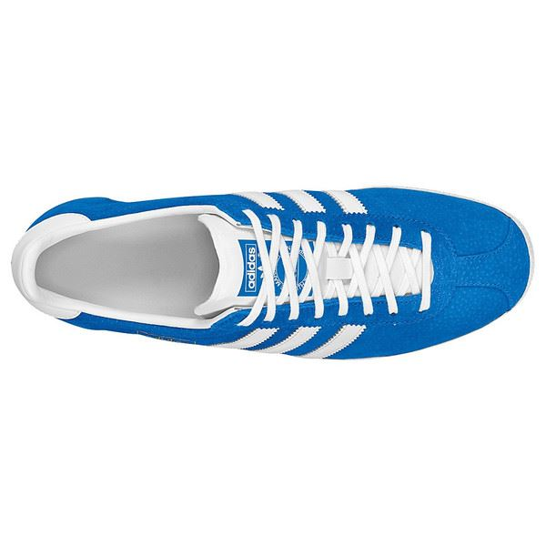 reputable site bb79e 4db74 adidas MEN S GAZELLE OG BLUEBIRD WHITE SUMMER RETRO DEADSTOCK RARE SUEDE  COOL
