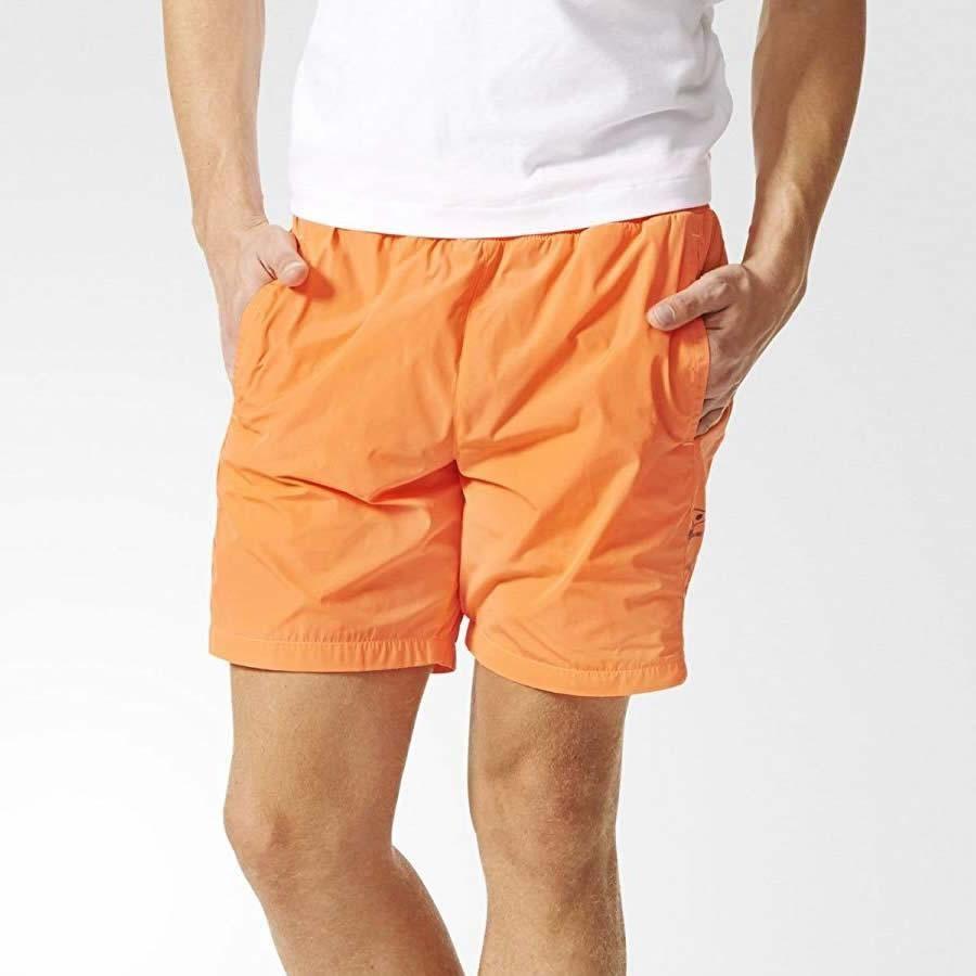 3b164791ed Details about adidas ORIGINALS X ALLTIMERS SHORTS MEN'S ORANGE HOLIDAY BEACH  SUMMER SUN NEW