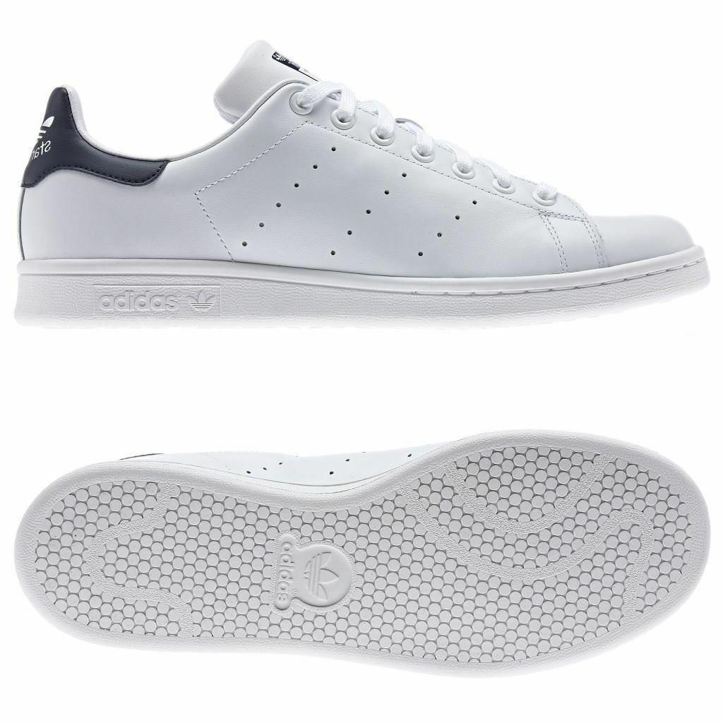 Details about adidas ORIGINALS STAN SMITH TRAINERS NAVY GREEN BLACK WHITE RETRO TENNIS SHOES