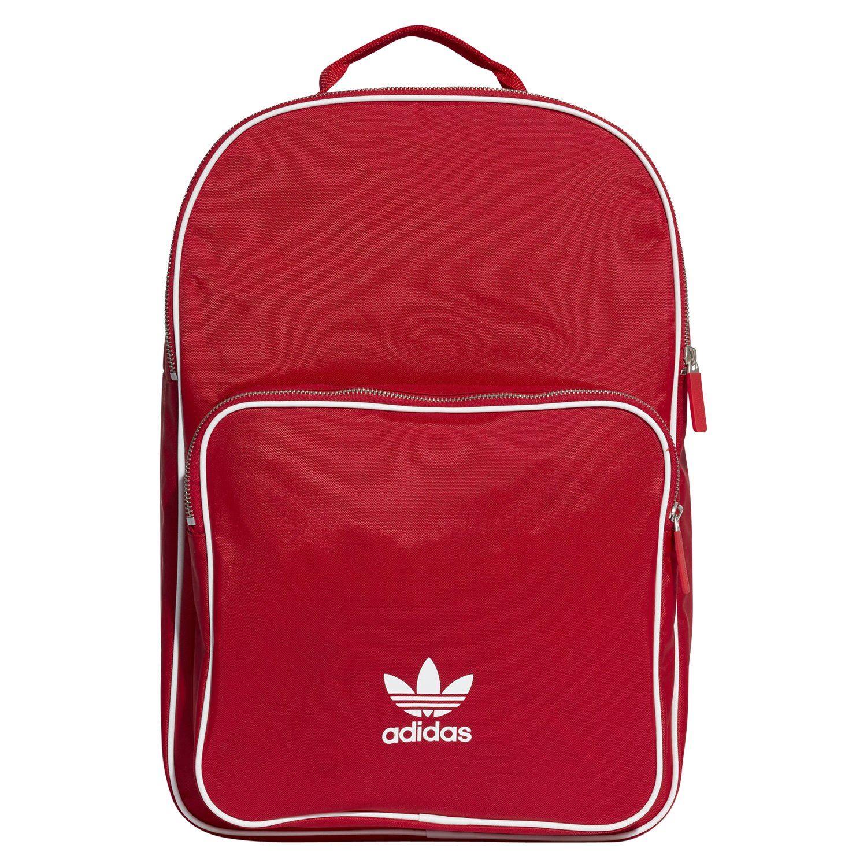 b9f38882a3ab Details about adidas ORIGINALS UNISEX ADICOLOR BACKPACK RED SCHOOL BAG  RETRO VINTAGE NEW BNWT