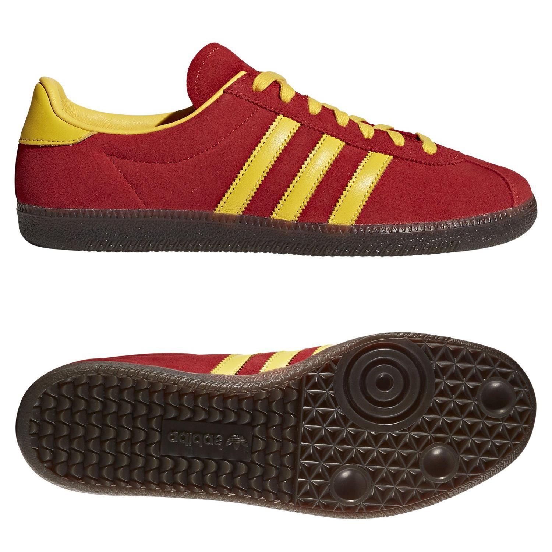 zapatillas casual adidas amarillas