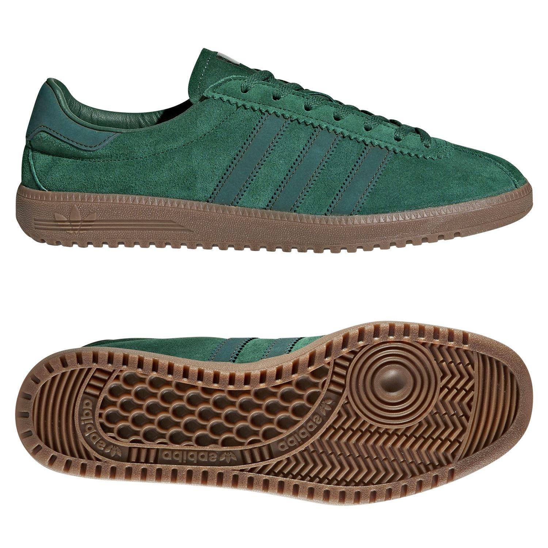 big sale 6bf09 6fc2b Bermudas entrenadores verde zapatillas zapatos casuales fútbol Adidas  ORIGINALS hombre