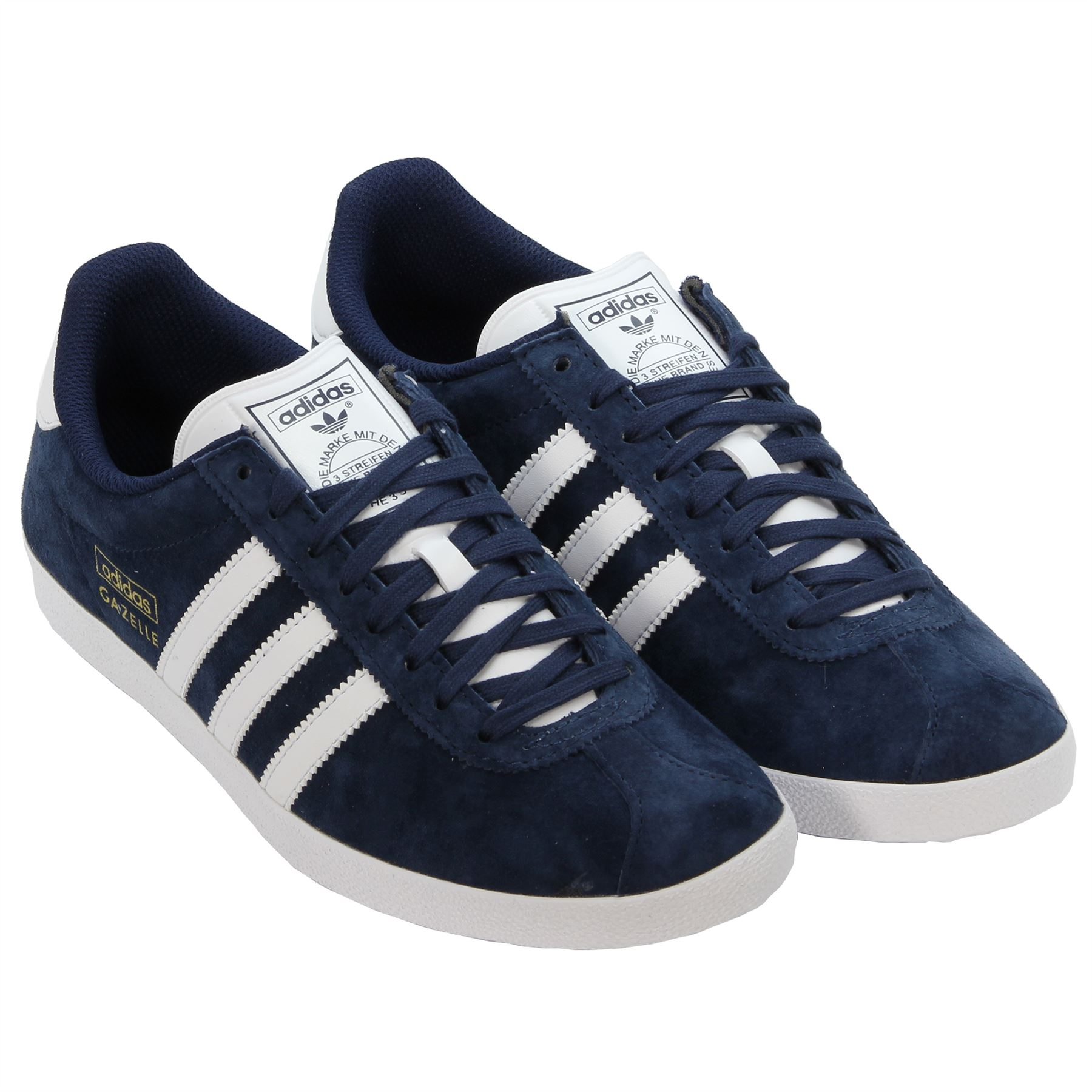ADIDAS ORIGINALS GAZELLE OG NAVY TRAINERS SIZES 7 12 SNEAKERS CASUAL SHOES NEW