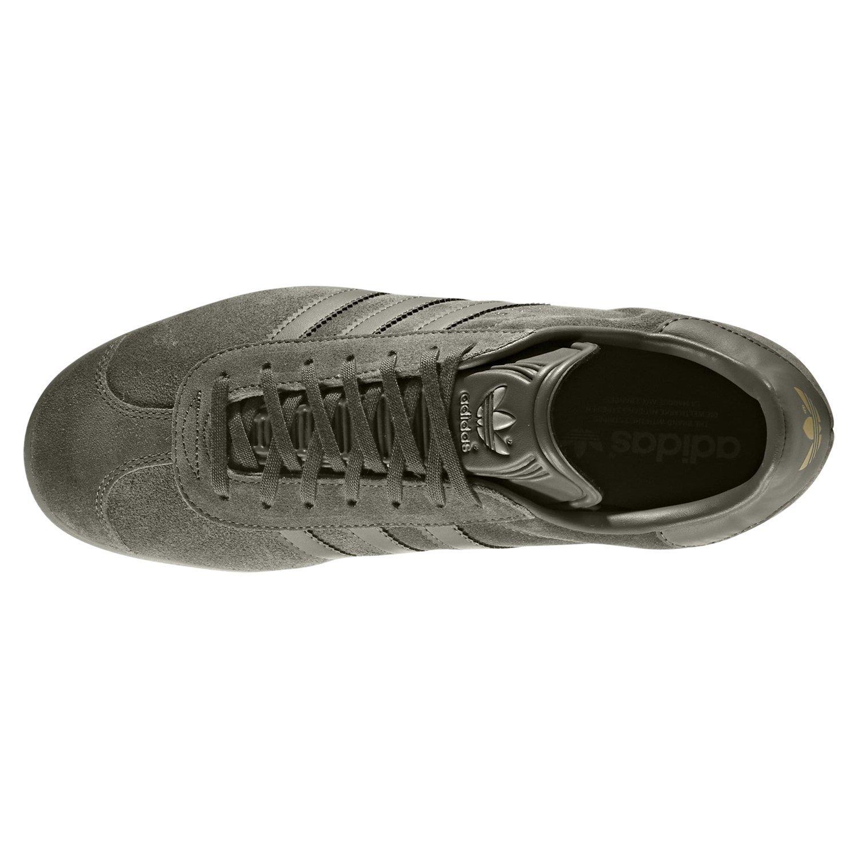 adidas ORIGINALS MEN'S GAZELLE TRAINERS GREY SNEAKERS SHOES FOOTBALL CASUALS