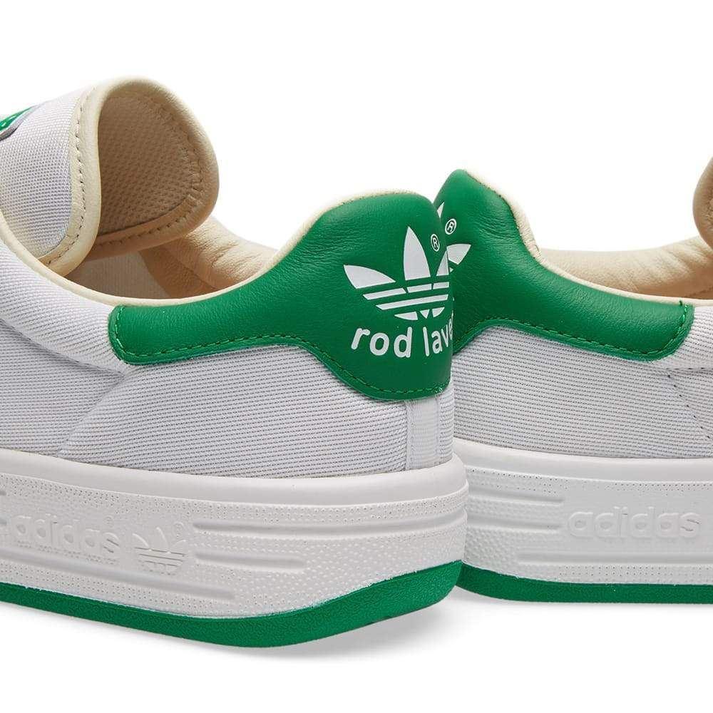 Adidas ORIGINALS ROD LAVER SUPER formateurs blanc vert RETRO chaussures de  TENNIS