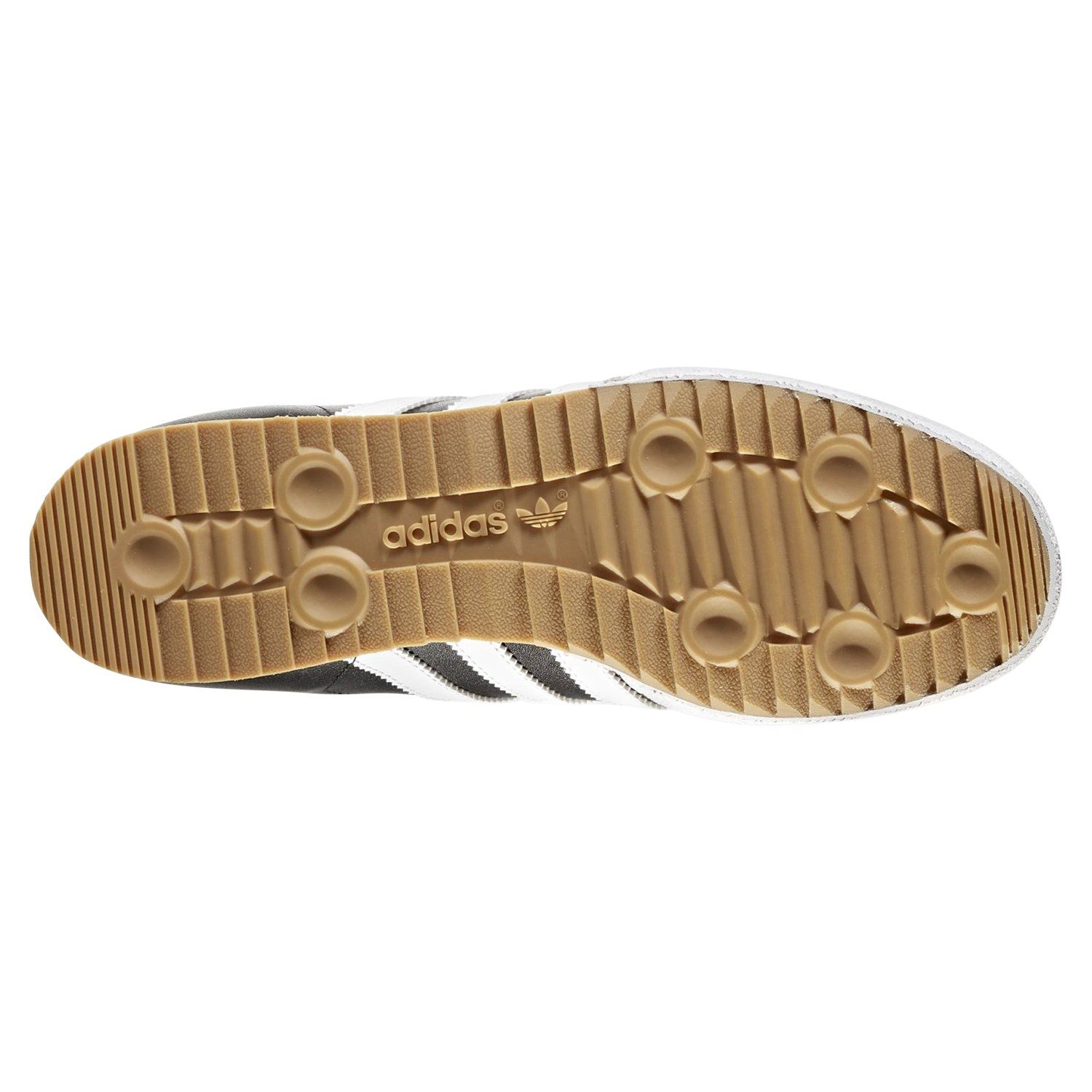 new product 4a8ed e1a03 adidas ORIGINALS MEN S SAMBA SUPER TRAINERS BLACK RETRO CLASSIC LEATHER  SHOES