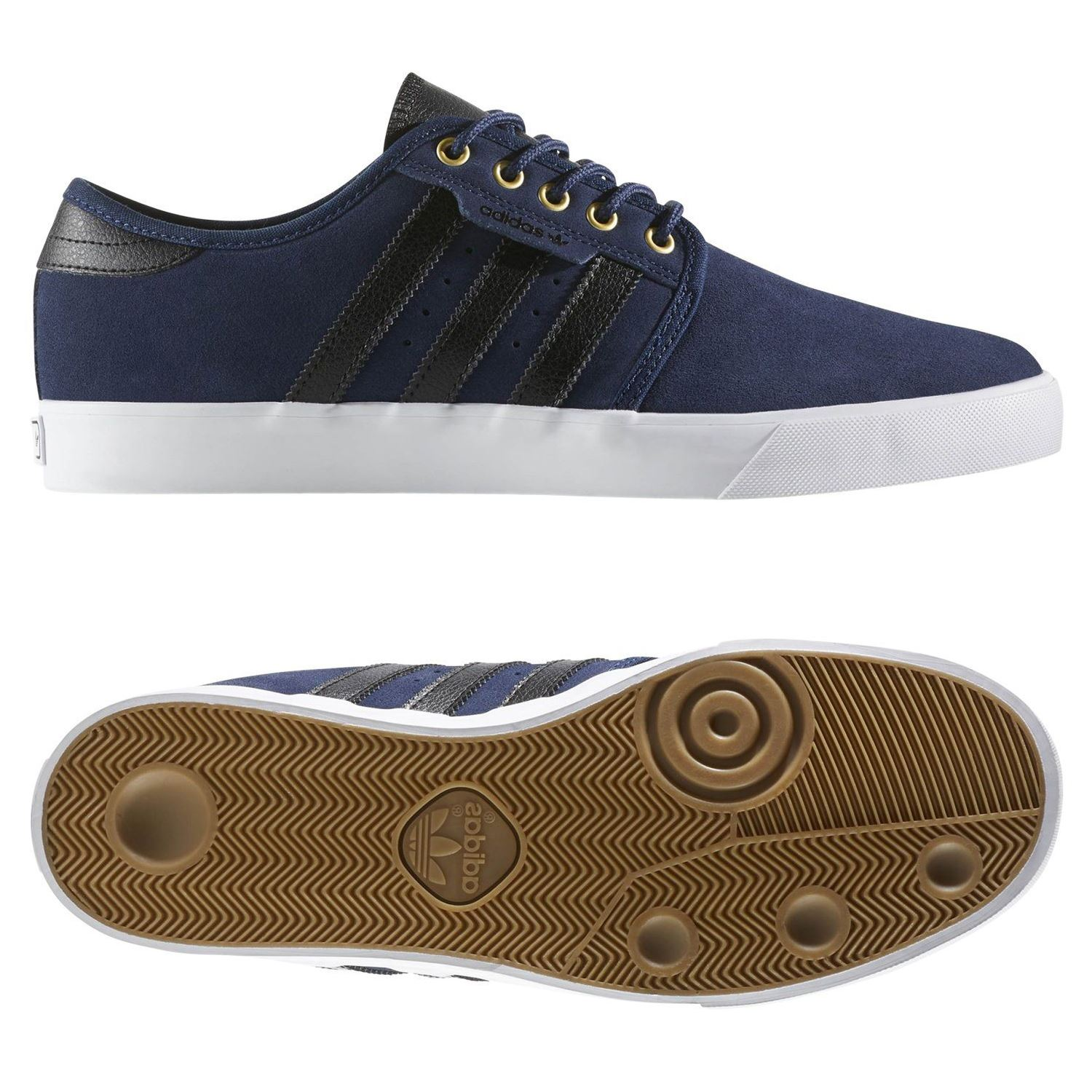newest collection 60137 1ab63 SEELEY formatori SKATEBOARDING SNEAKERS scarpe ADIDAS ORIGINALS uomo blu