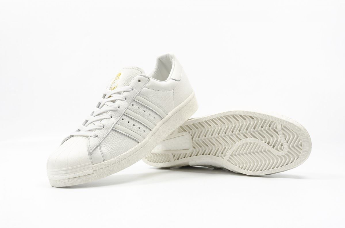 pretty nice 4509e b8579 Adidas ORIGINALS SUPERSTAR BOOST formateurs blanc chaussures SNEAKERS hommes  NEW