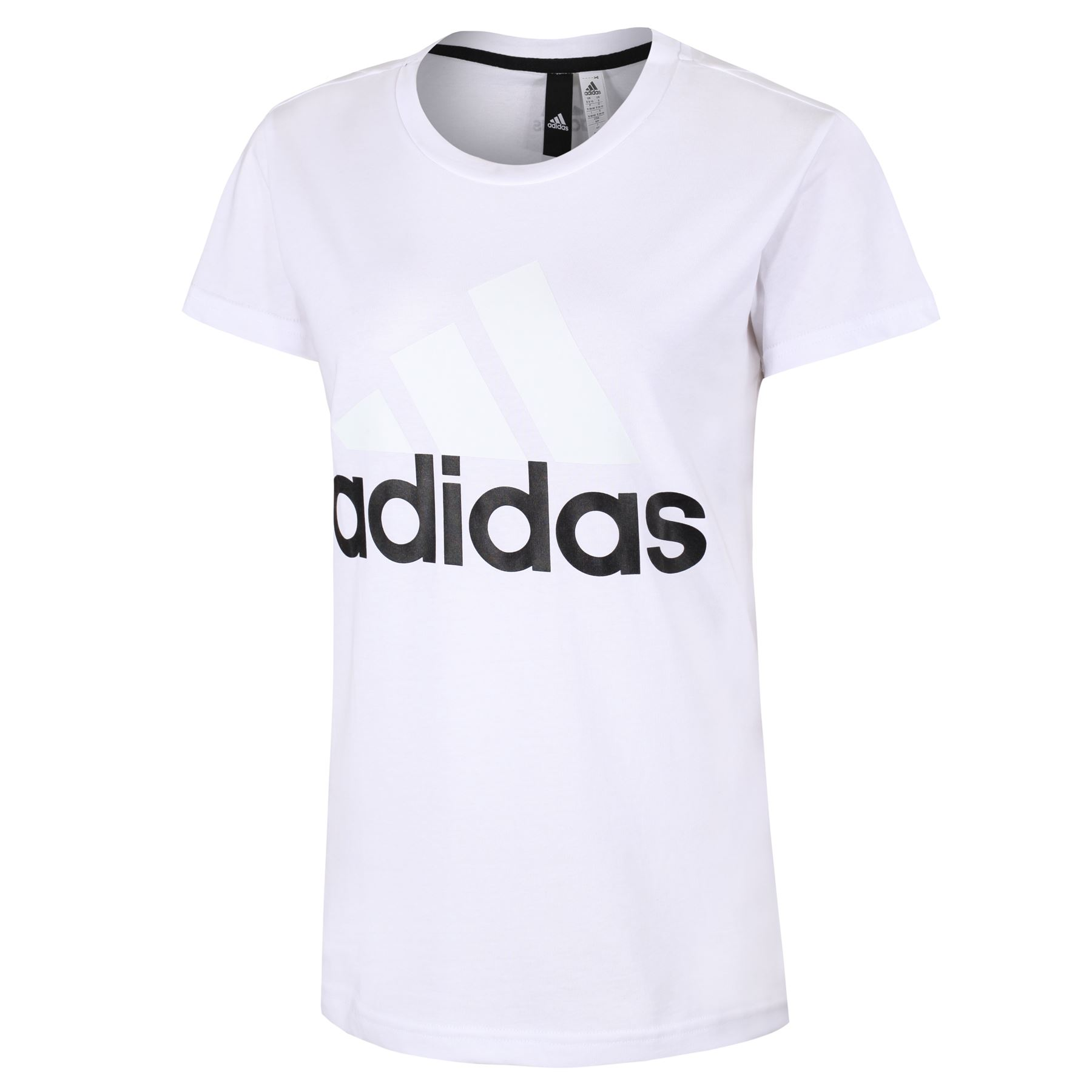 adidas-WOMEN-039-S-ESSENTIALS-LINEAR-T-SHIRT-GYM-BLACK-PINK-WHITE-NAVY-GIRLS-LADIES thumbnail 24
