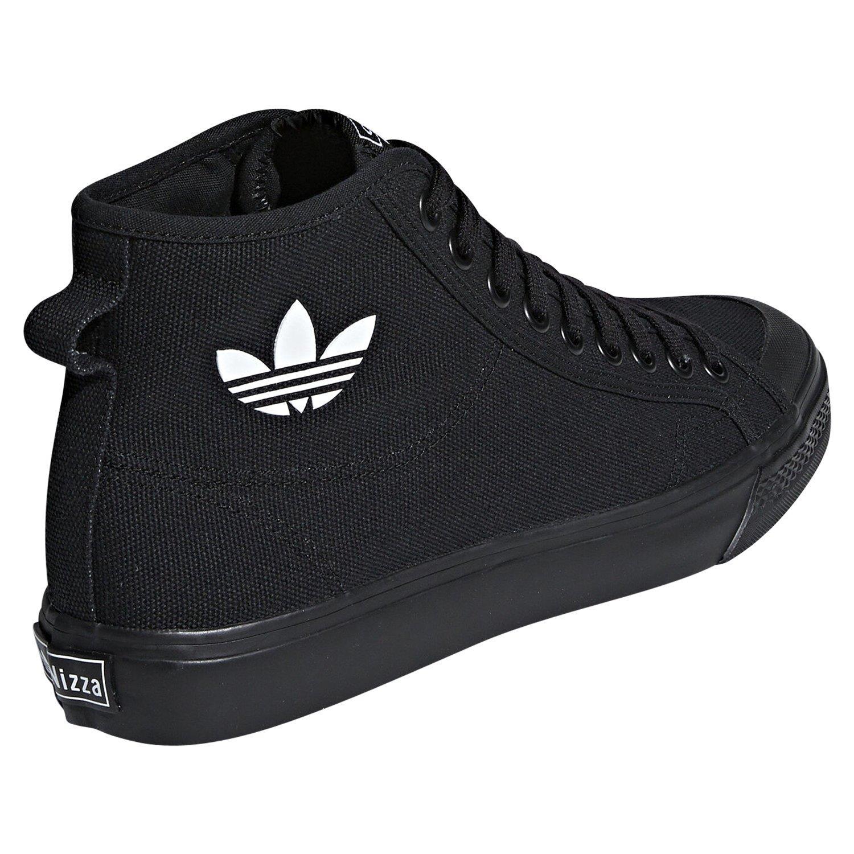 Détails sur Adidas Originaux Agréable RF Baskets Montantes Noir Skateboard Baskets Toile
