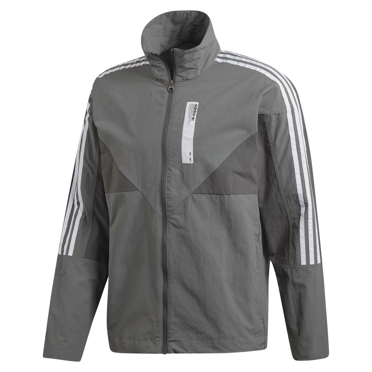 Details zu Adidas Original Nmd Colorado Trainingsjacke Grau Retro Neu Modern Top HERREN