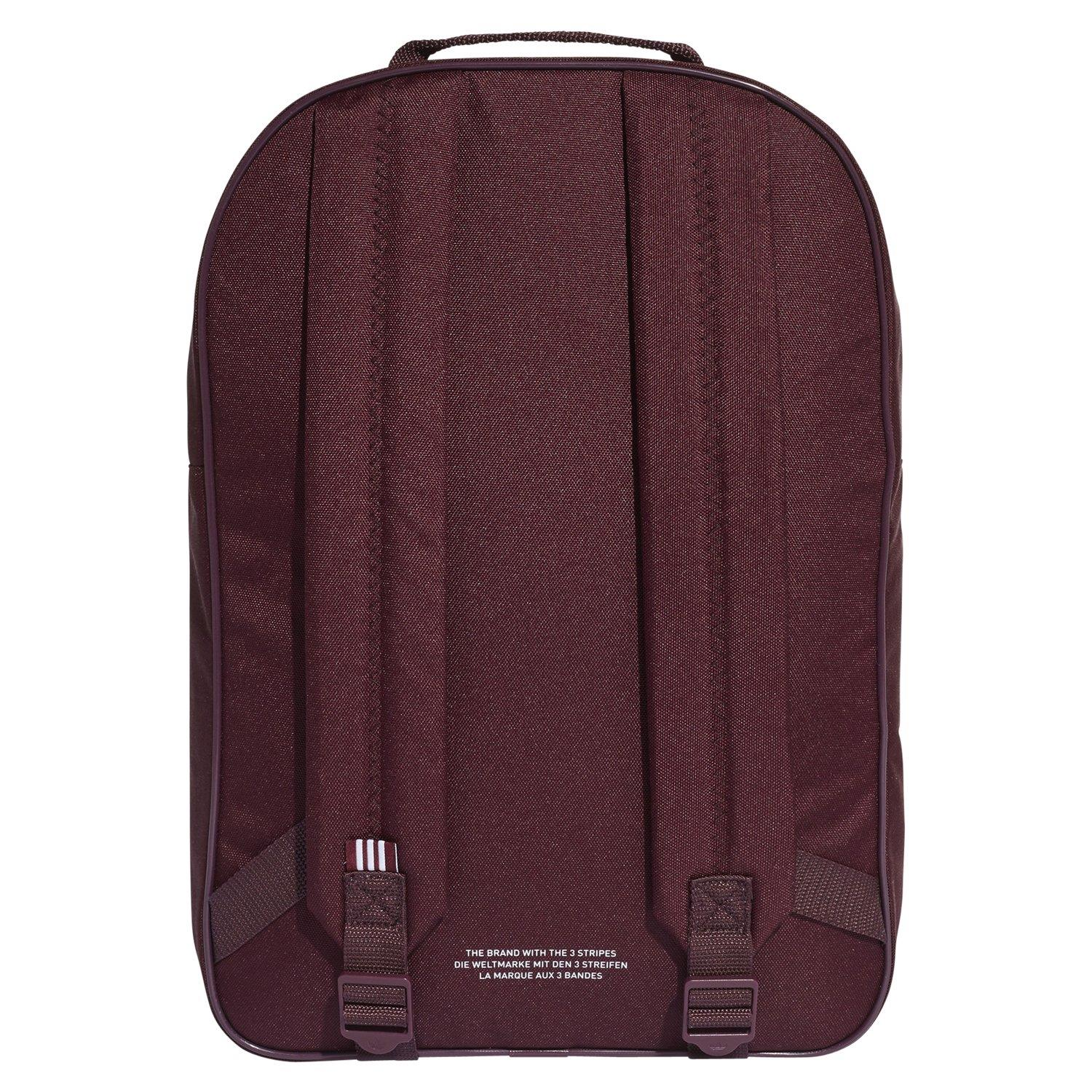 the cheapest coupon code 2018 shoes Details about adidas ORIGINALS BACKPACK BAG TREFOIL RARE BURGUNDY RED  COLLEGE BACK TO SCHOOL