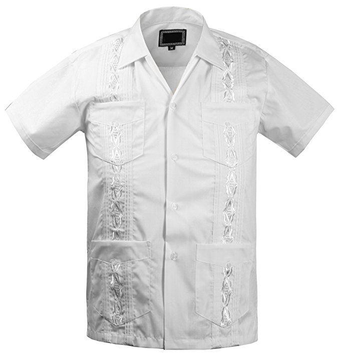 guayabera kids shirt short sleeve buttonup cuban