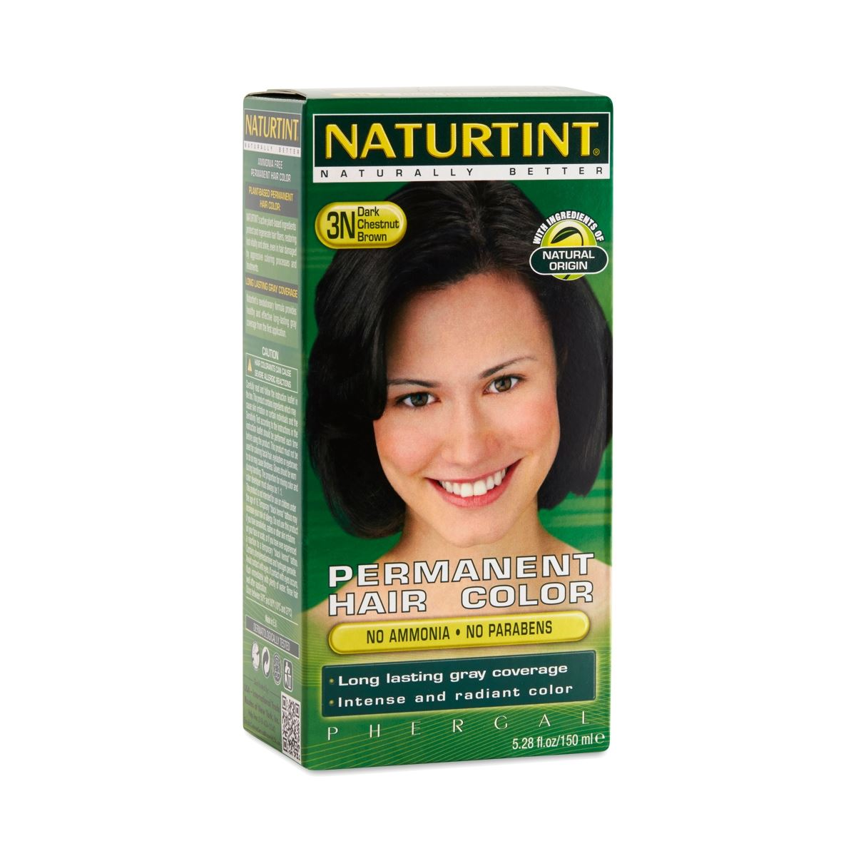 Naturtint Permanent Hair Color Dark Chestnut Brown 3n 661176010028