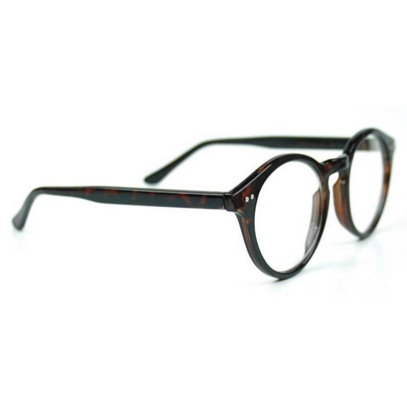 50/'s Round Oval Clear Lens Eyeglasses Vintage Retro Thick Frame Women Glasses