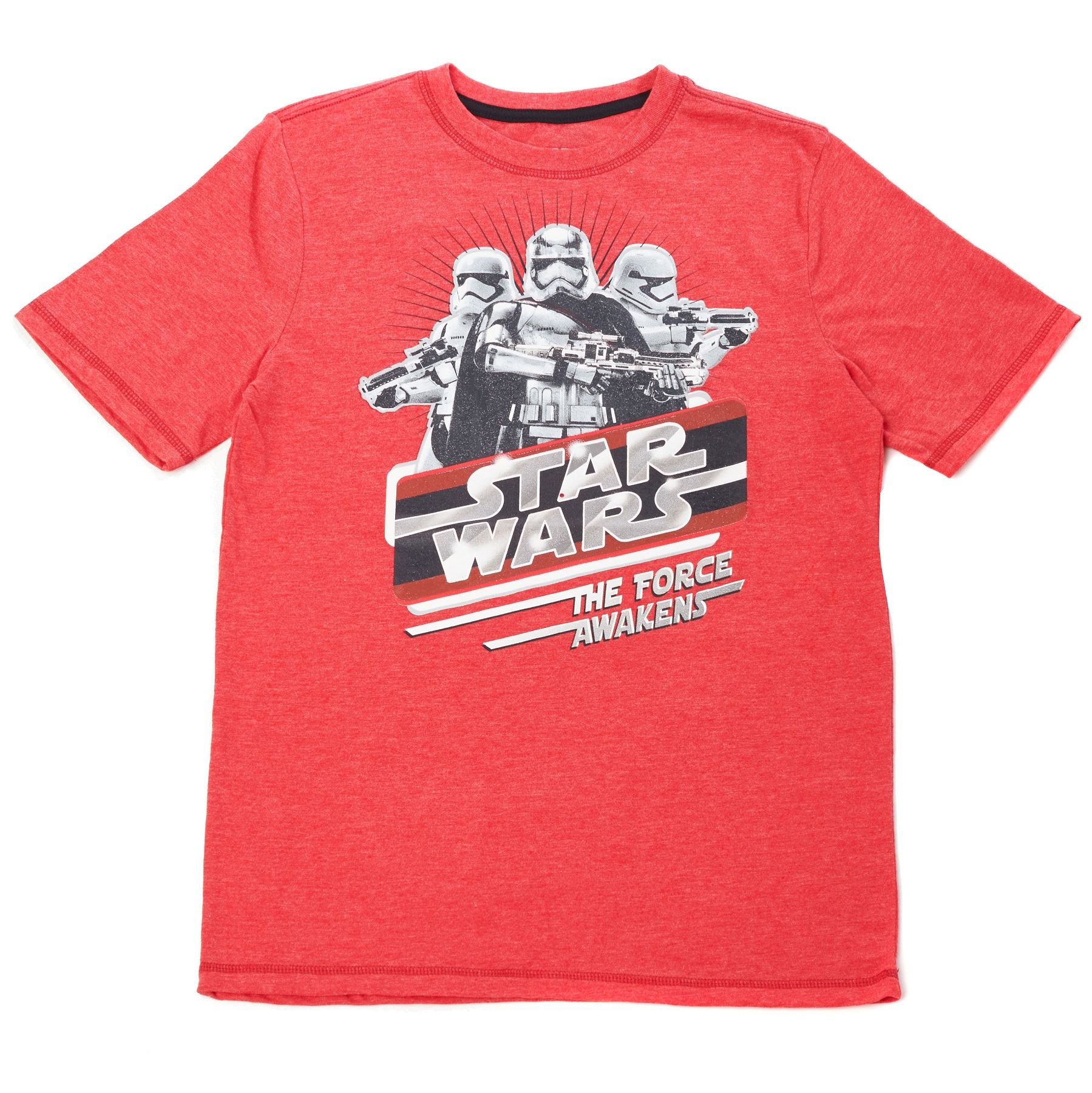 STAR WARS KIDS GRAPHIC TEE COTTON SIZE 14-16 RULE THE GALAXY KYLO REN L CHARCOAL