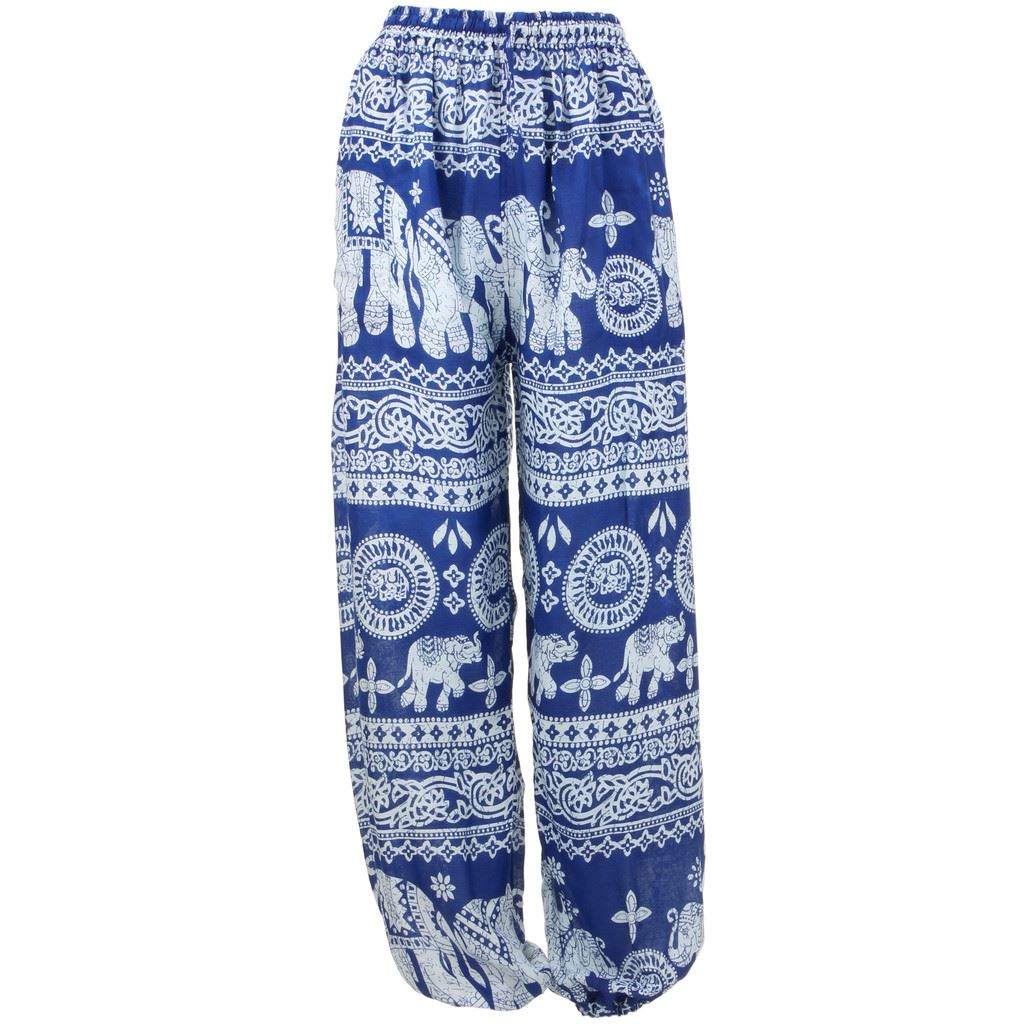 Elephant Trousers Pants Harem Ali Baba Aladdin Yoga Lounge Hippie Baggy Ellie