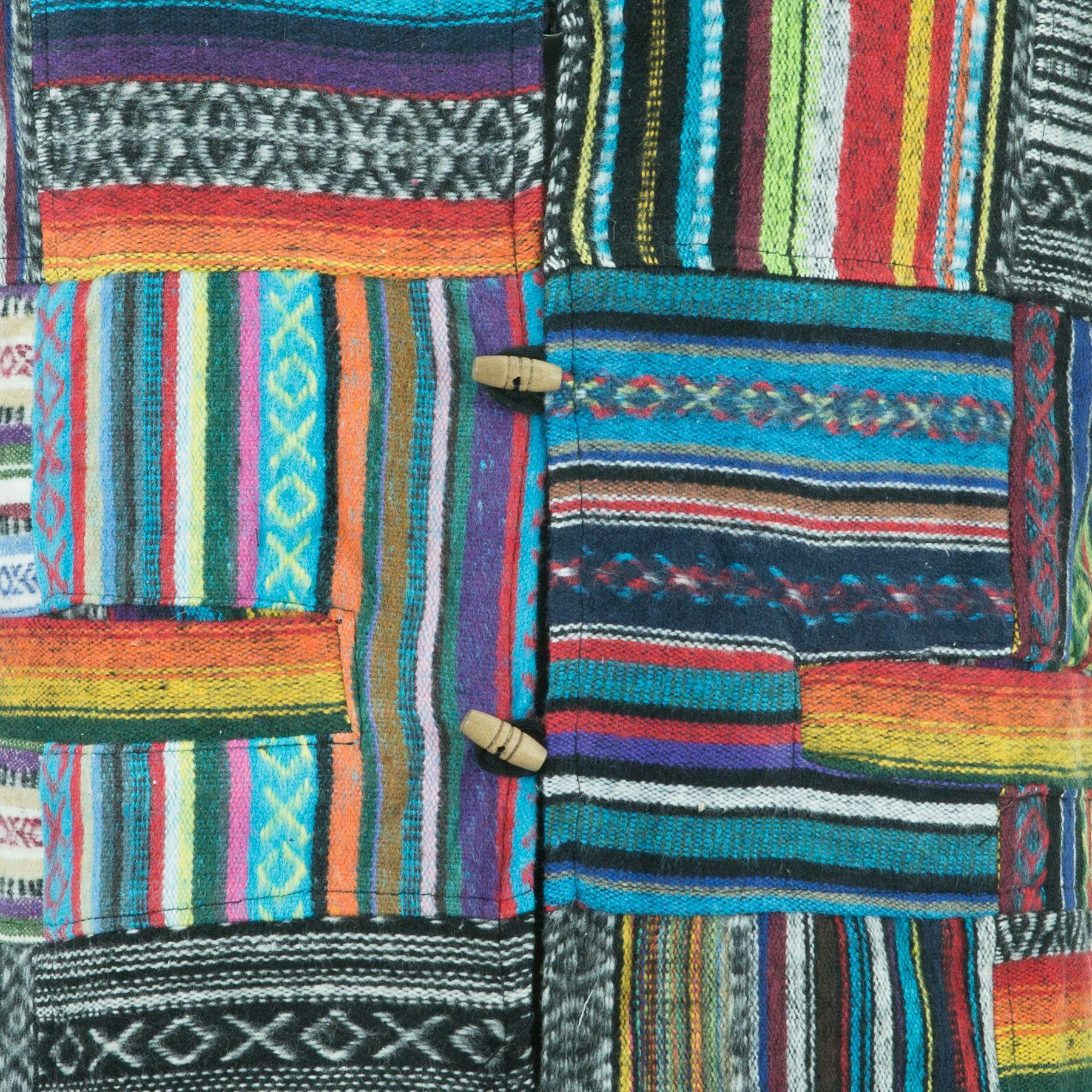Waistcoat-Vest-Mens-Cotton-Brushed-Hippie-Boho-Suit-Men-Ladies thumbnail 4