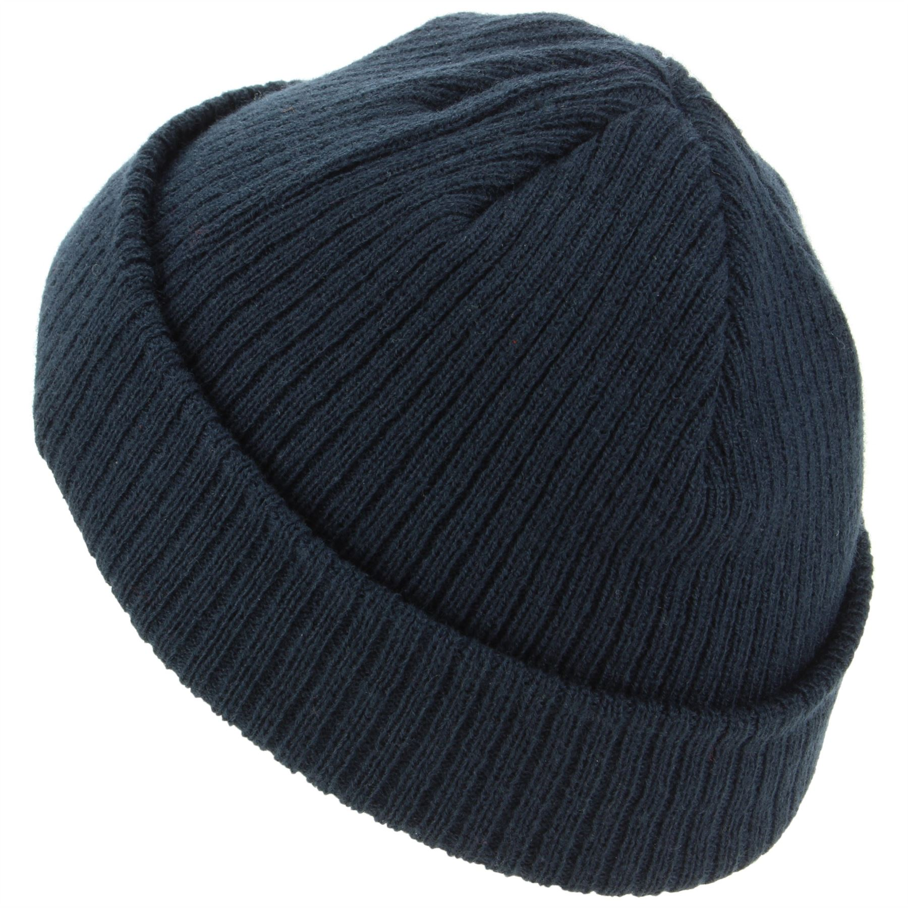 59a81495b1c Mini Beanie Hat Fishermans Cap Mens Womens Black Maroon Blue Winter ...