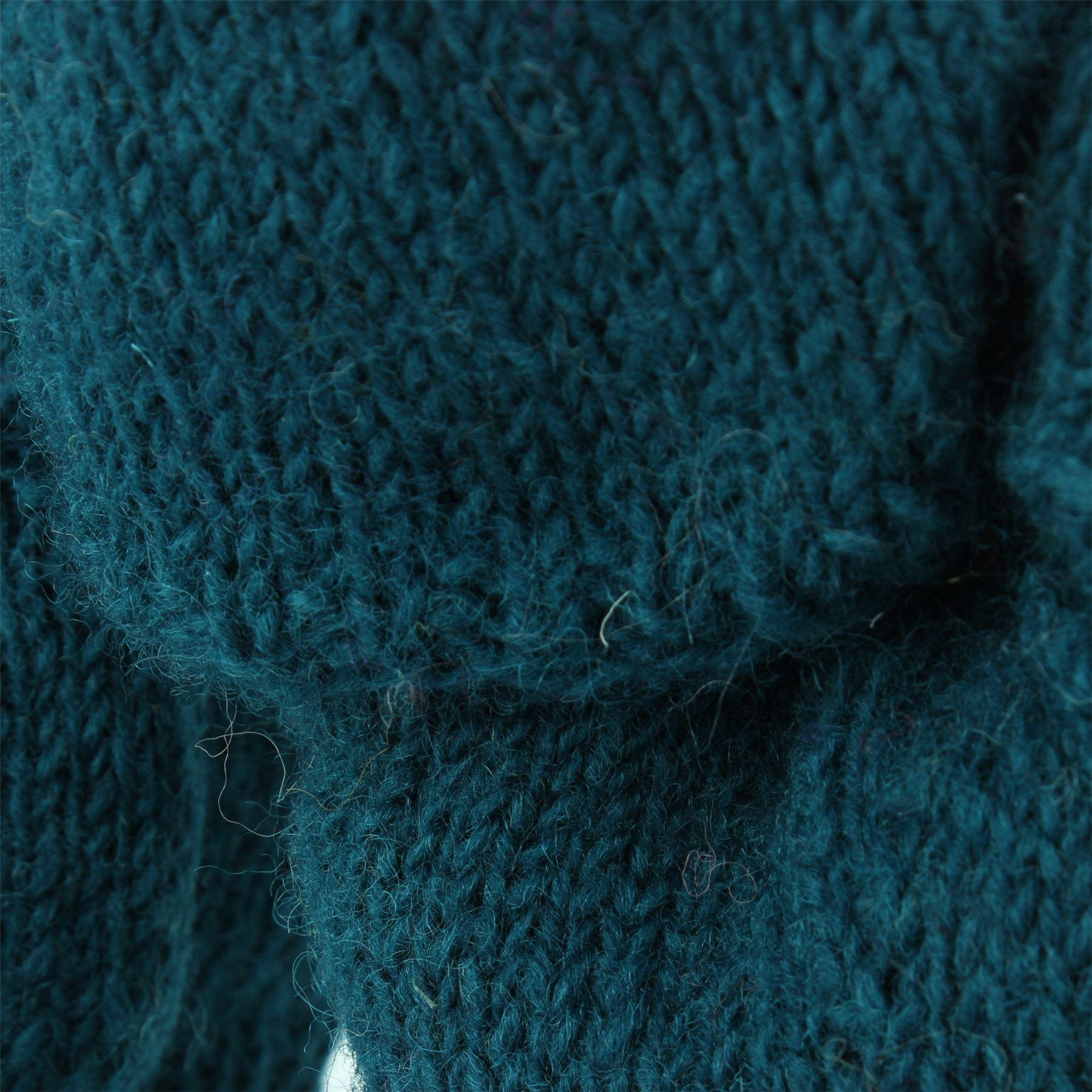 Wool-Gloves-Mittens-Fingerless-Shooter-Lined-PLAIN-Knit-Handmade-LoudElephant miniatura 15