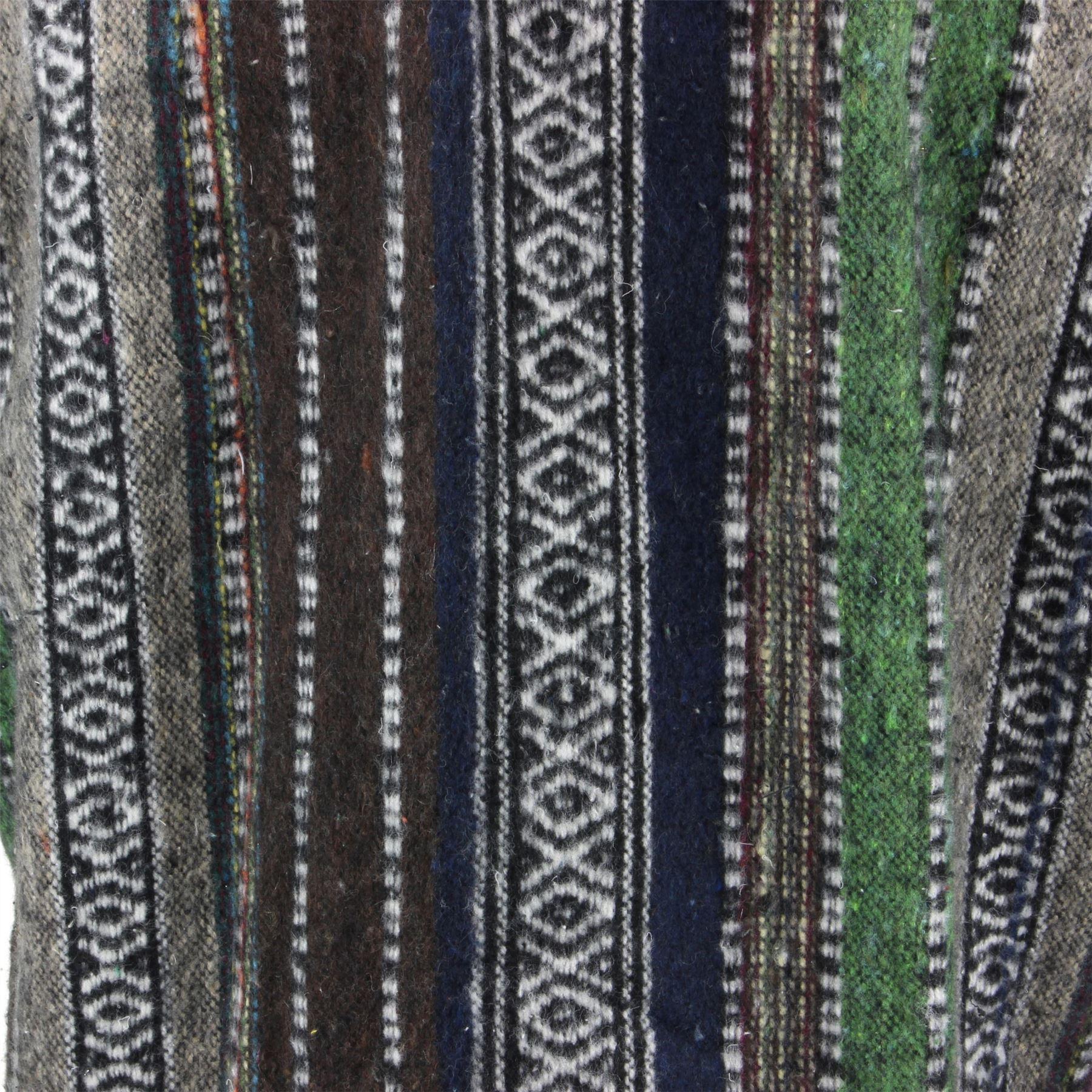 Poncho-mantello-con-cappuccio-cotone-LOUDelephant-caldo-Festival-Intrecciato-uomini-donne-breve miniatura 22