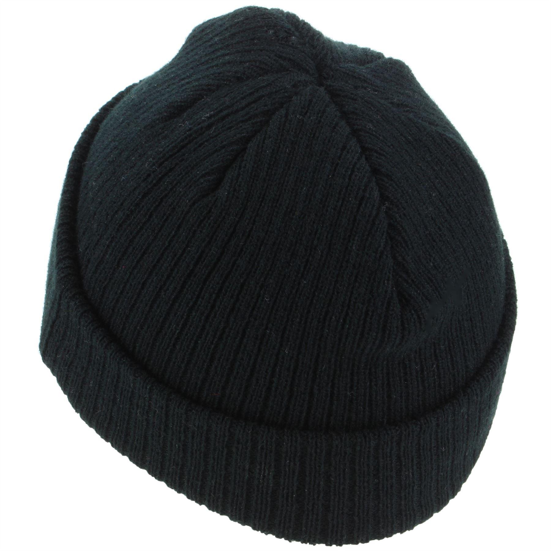 Mini Beanie Hat Fishermans Cap Mens Womens Black Maroon Blue Winter ... 97af6ca0d3