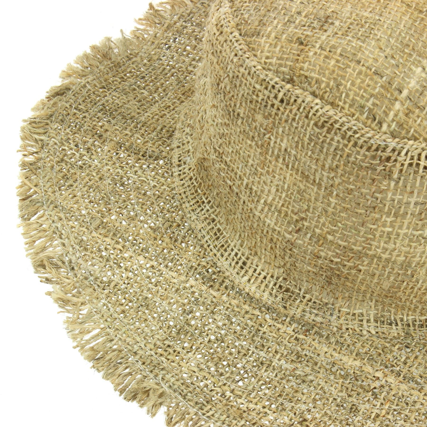 3f67afc555d183 Sun Hat Hemp Summer LoudElephant Frayed Brim Beach Cap Boho Hippie ...