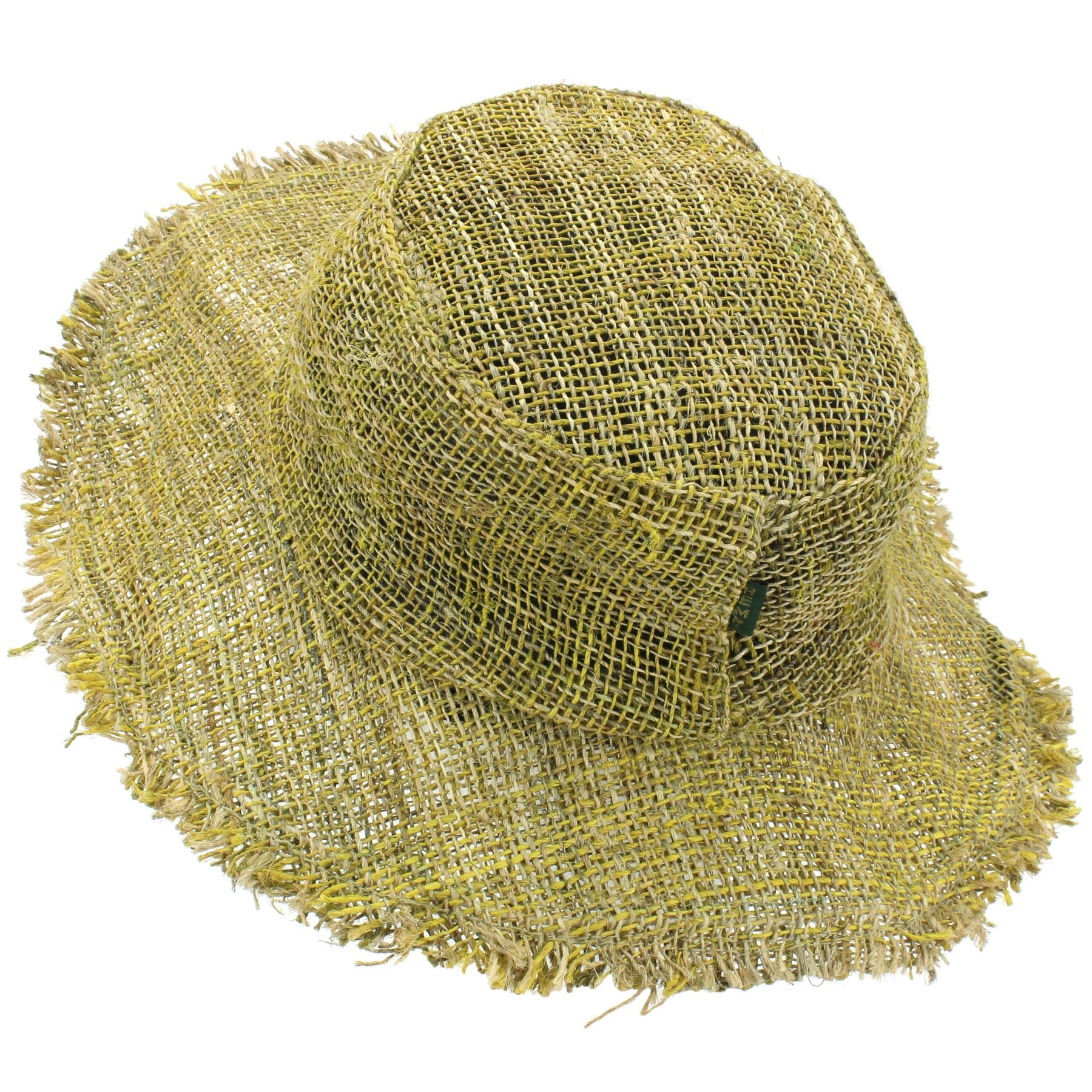 e6686a1e0cb Sun Hat Hemp Summer LoudElephant Frayed Brim Beach Cap Boho Hippie ...