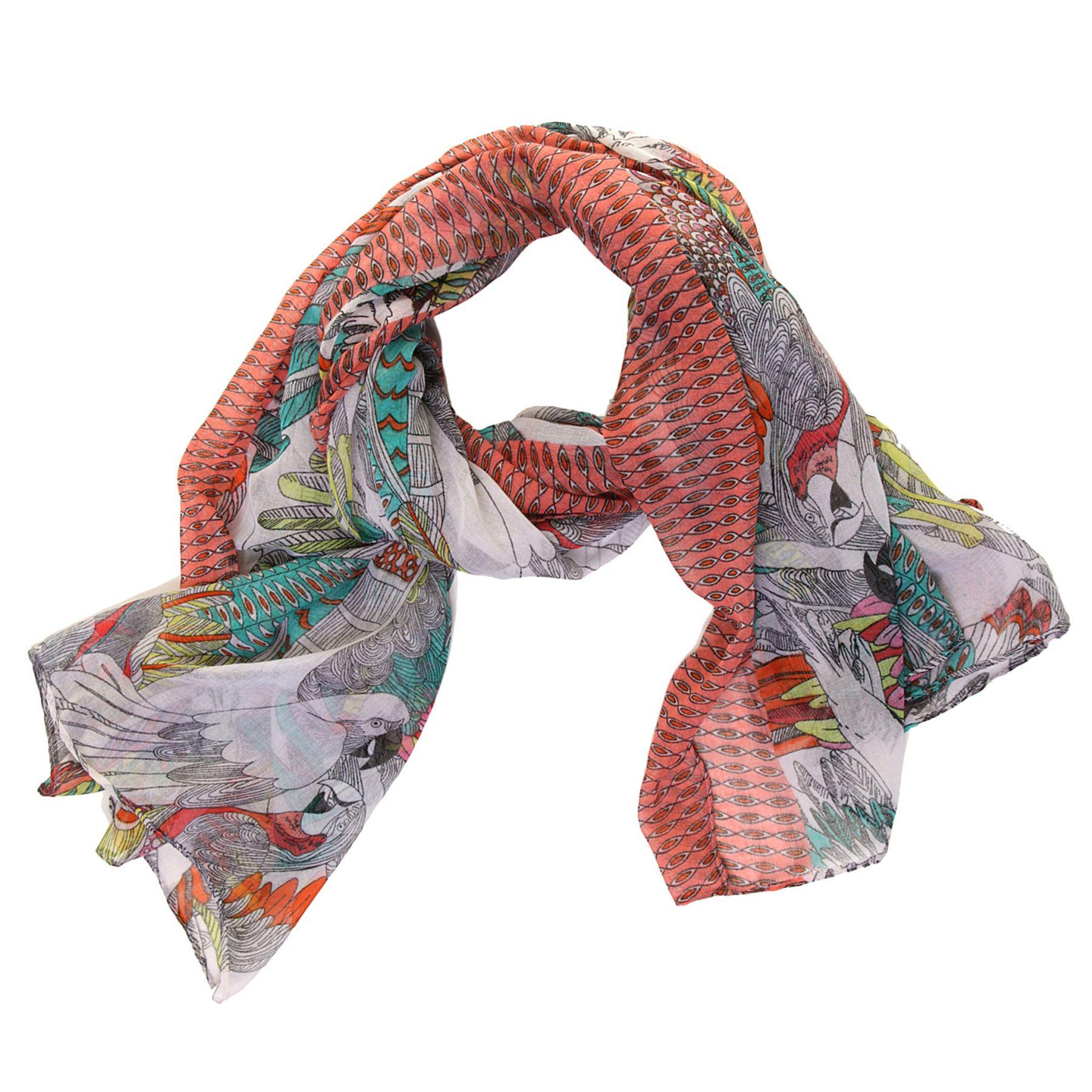 GRANDE Stampa Elefante Animale Fashion lungo sciarpa scialle Wrap Stola