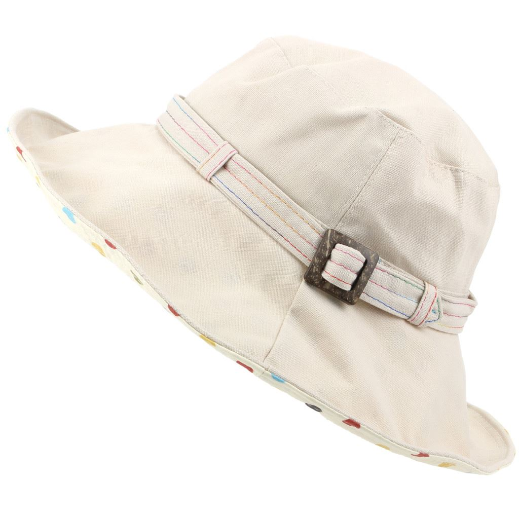 Details about Sun Hat Ladies Linen Shapeable Brim Summer Women Crushable  Travel Hawkins 90810cfe22d