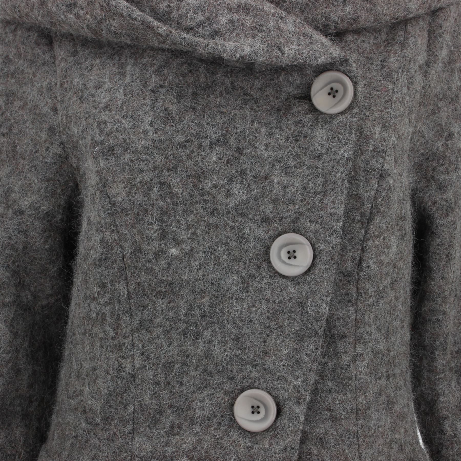 Ladies-Wool-Winter-Coat-Jacket-BOHEMIA-SWEDEN-Woven-Wool-rich-blend-Hood thumbnail 8