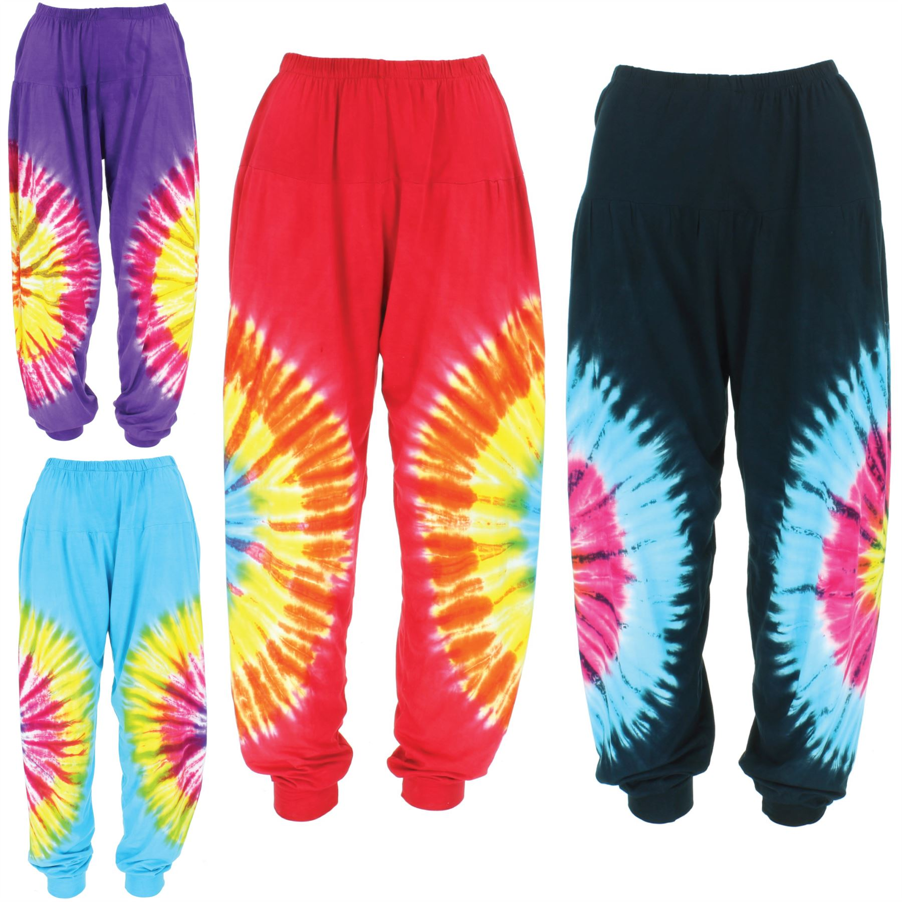 Pantalon Combinaison 2 en 1 COLINE Bouffant Sarouel Aladin  Harem Boho Pants