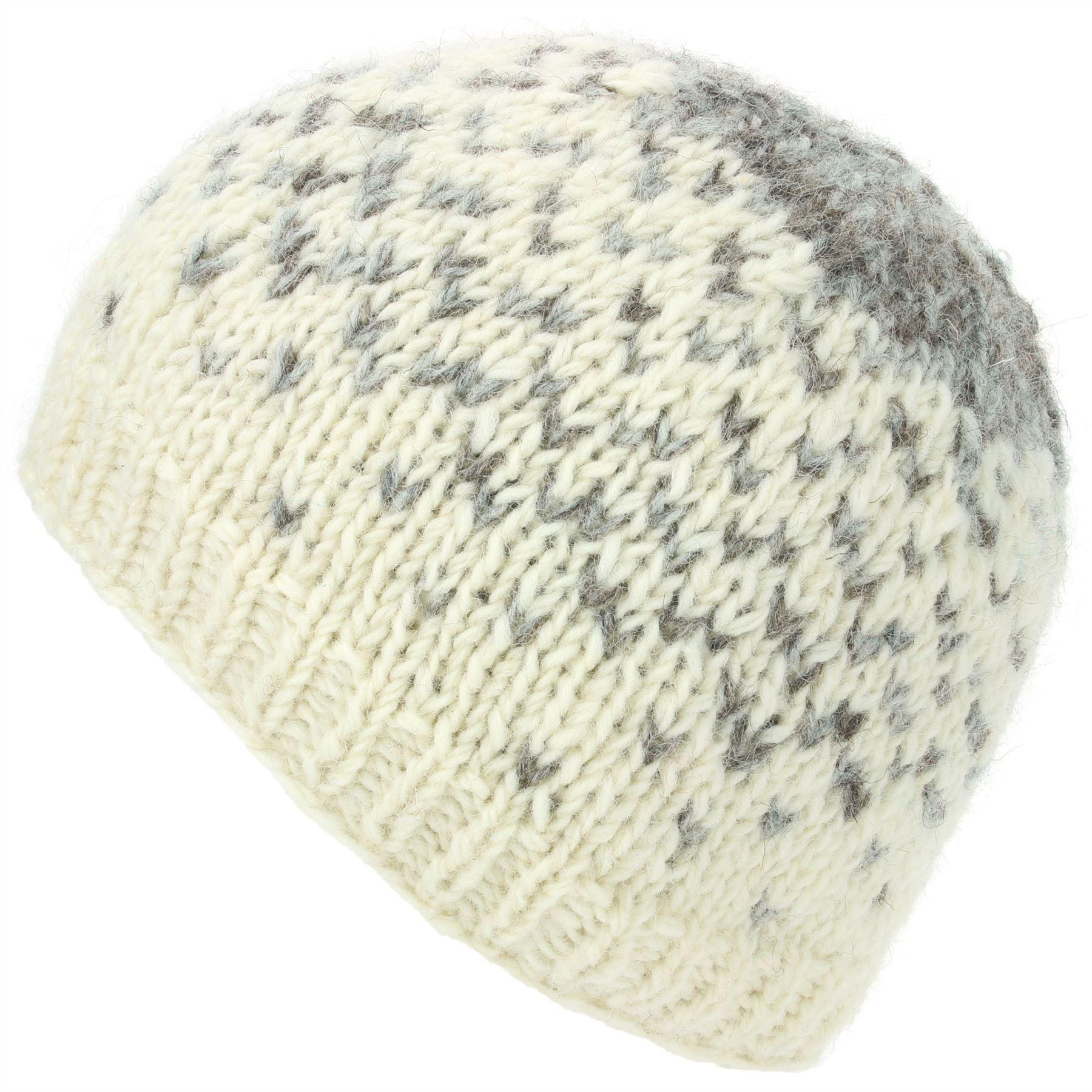 2b35507cdbf Warm Cap Soft cyan Loudelephant Hat magenta cream Ski Knit Black Colourful  Winter Wool Lined Beanie wxCtBqpC