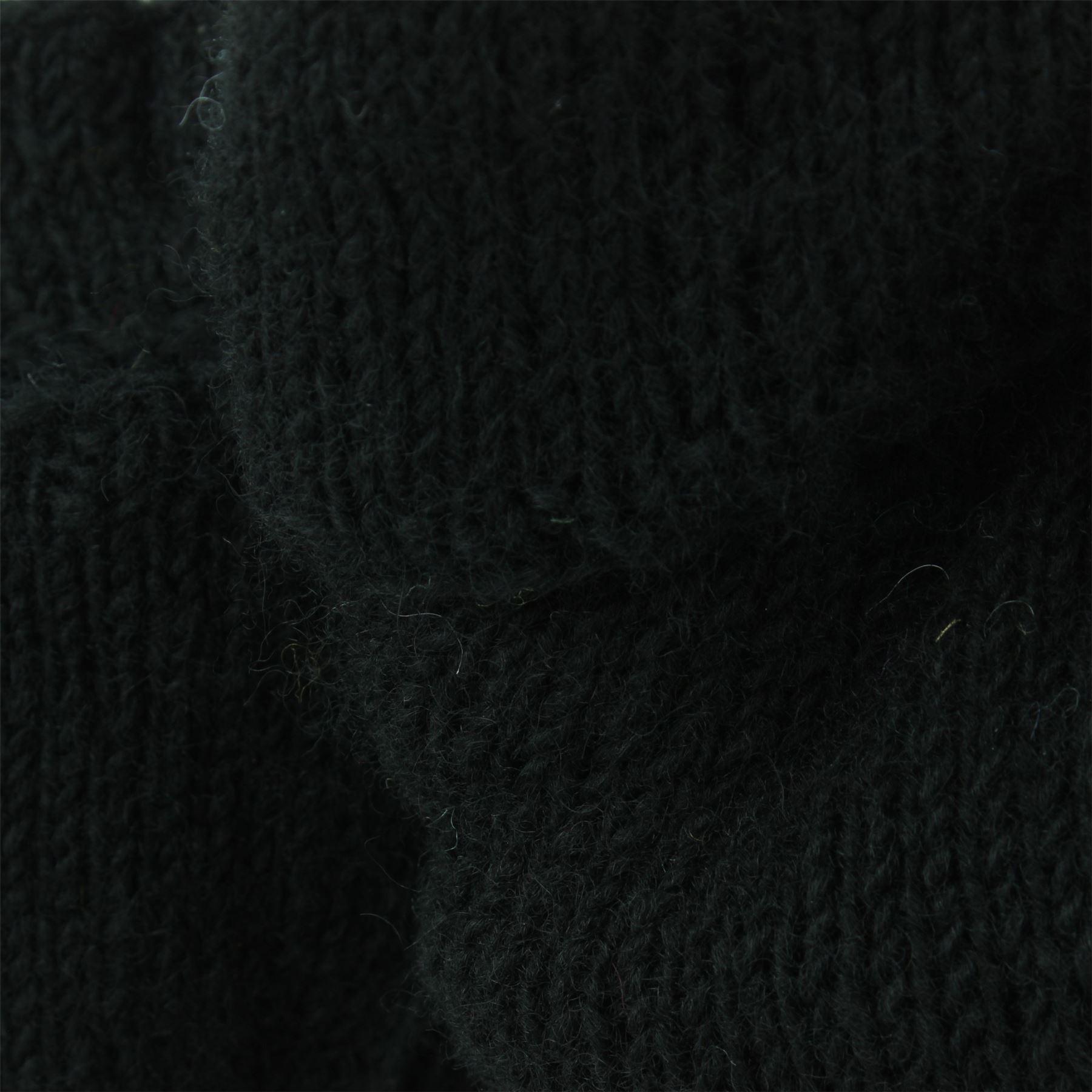 Wool-Gloves-Mittens-Fingerless-Shooter-Lined-PLAIN-Knit-Handmade-LoudElephant miniatura 3