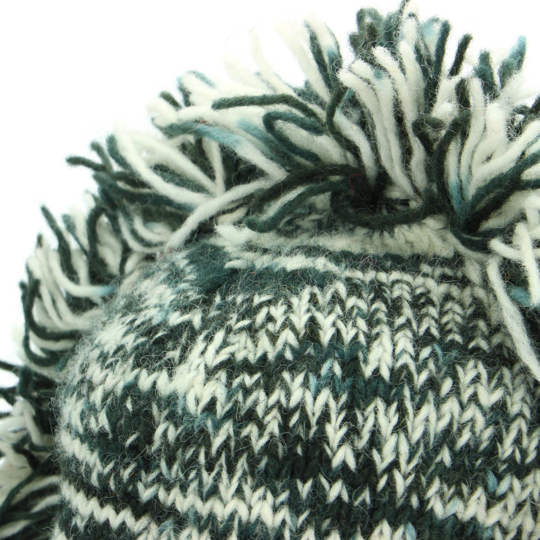 Cappello di Lana Mohawk Punk nappe a maglia LOUDelephant Uomo Donna Caldo Inverno