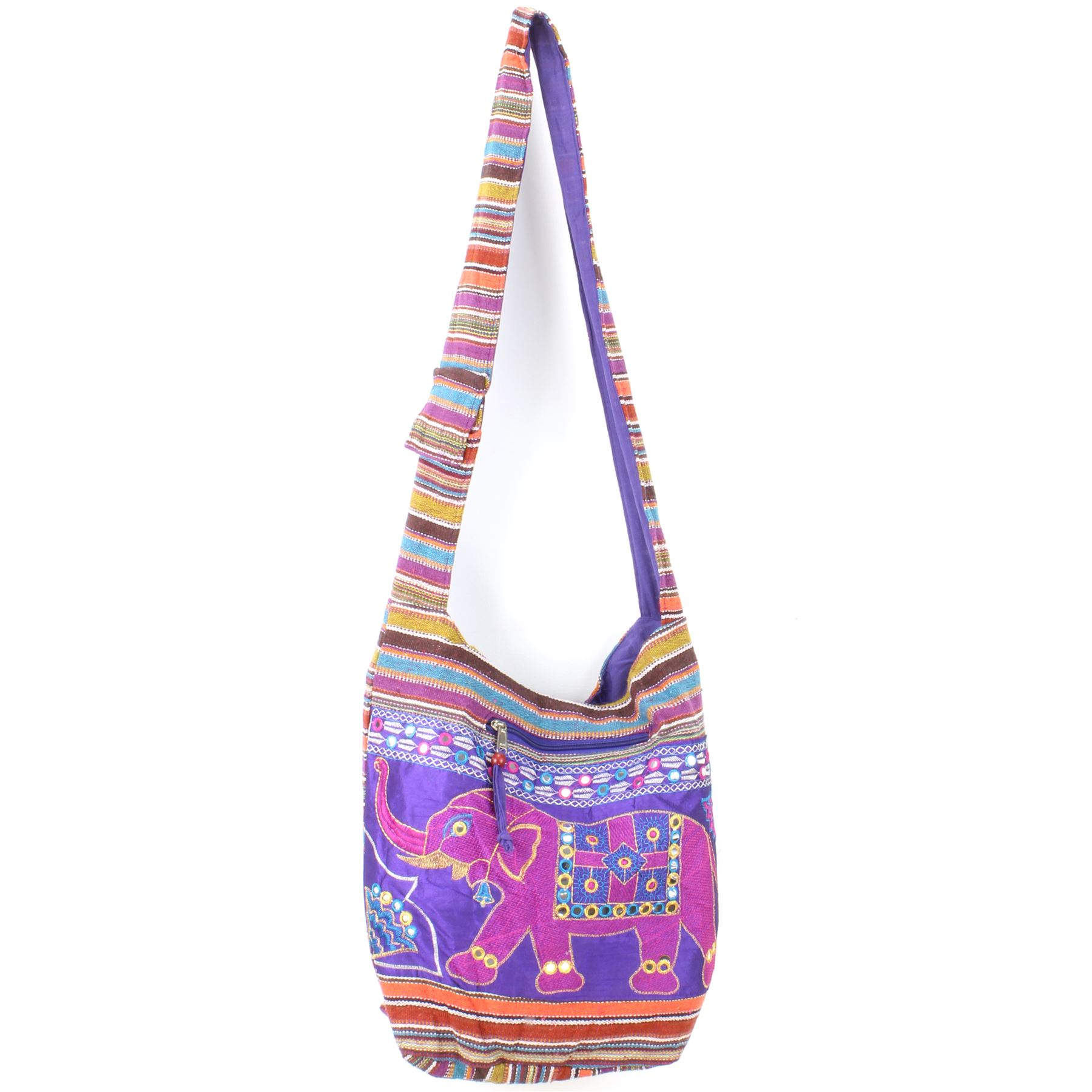 Sling Bag Elephant Messenger Crossbody Cross Body Handbag Backpack Hippie Hobo
