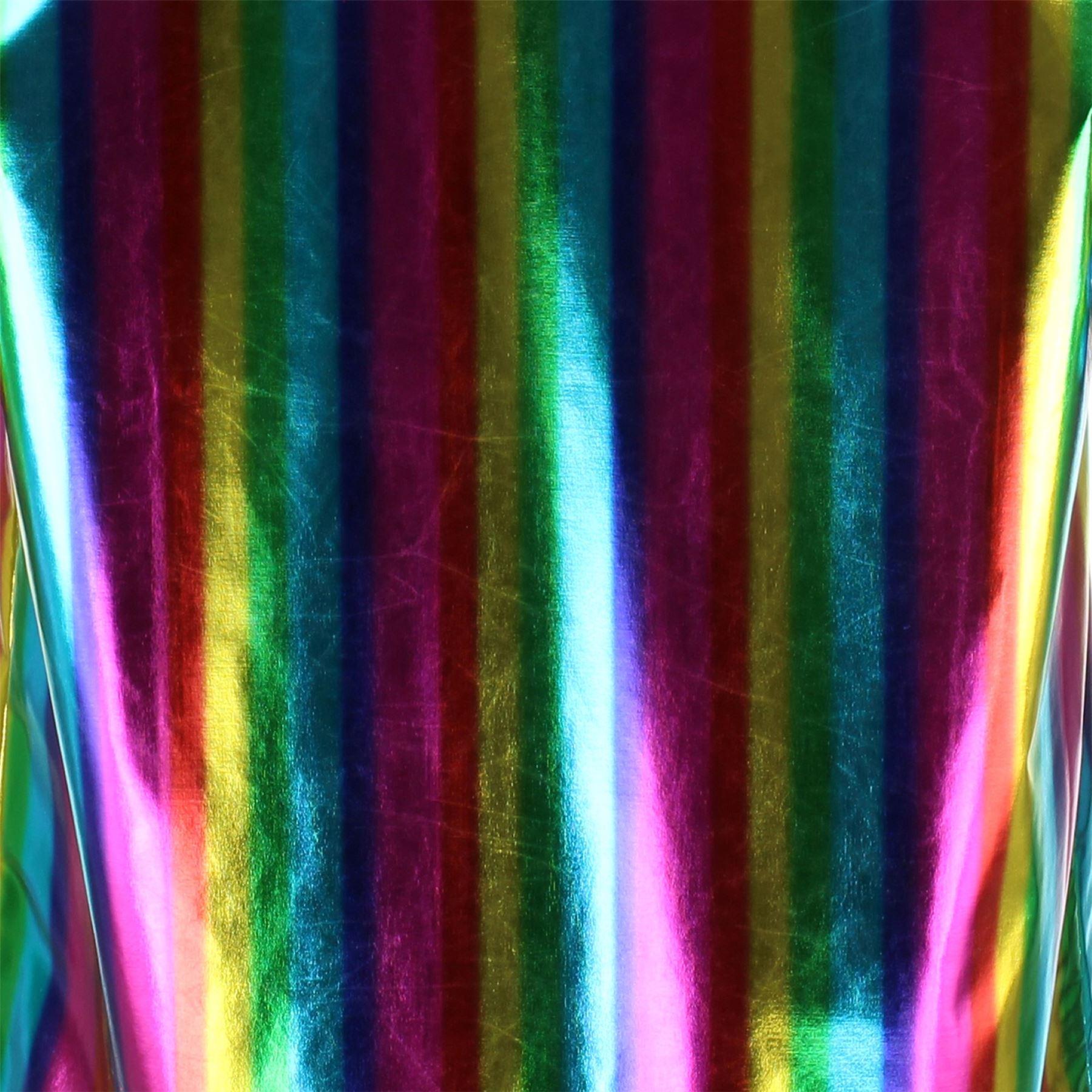 Shiny-Metallic-Blazer-Firefly-Waistcoat-Party-Dressing-up thumbnail 7