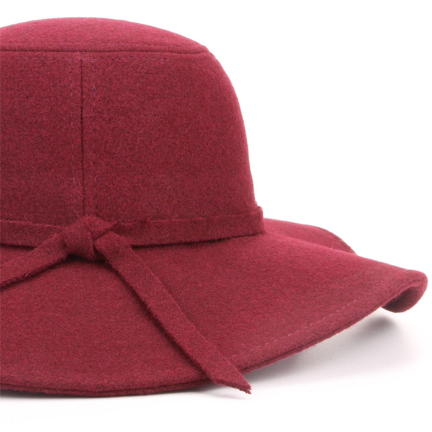 Wool Felt Floppy Hat Wide Brim Hawkins Cloche Fedora Cap Cloche ... 0923b4ef1f2c
