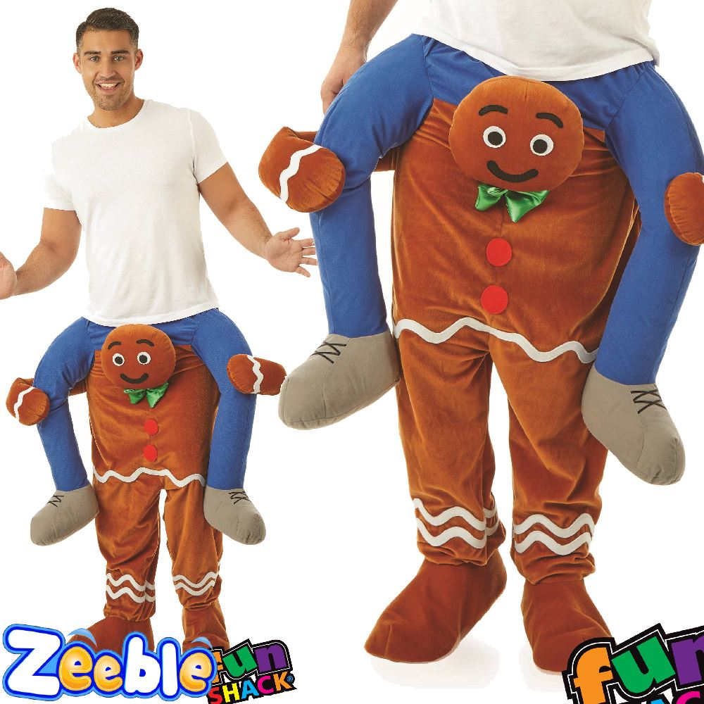adult lift me up costume christmas santa gingerbread