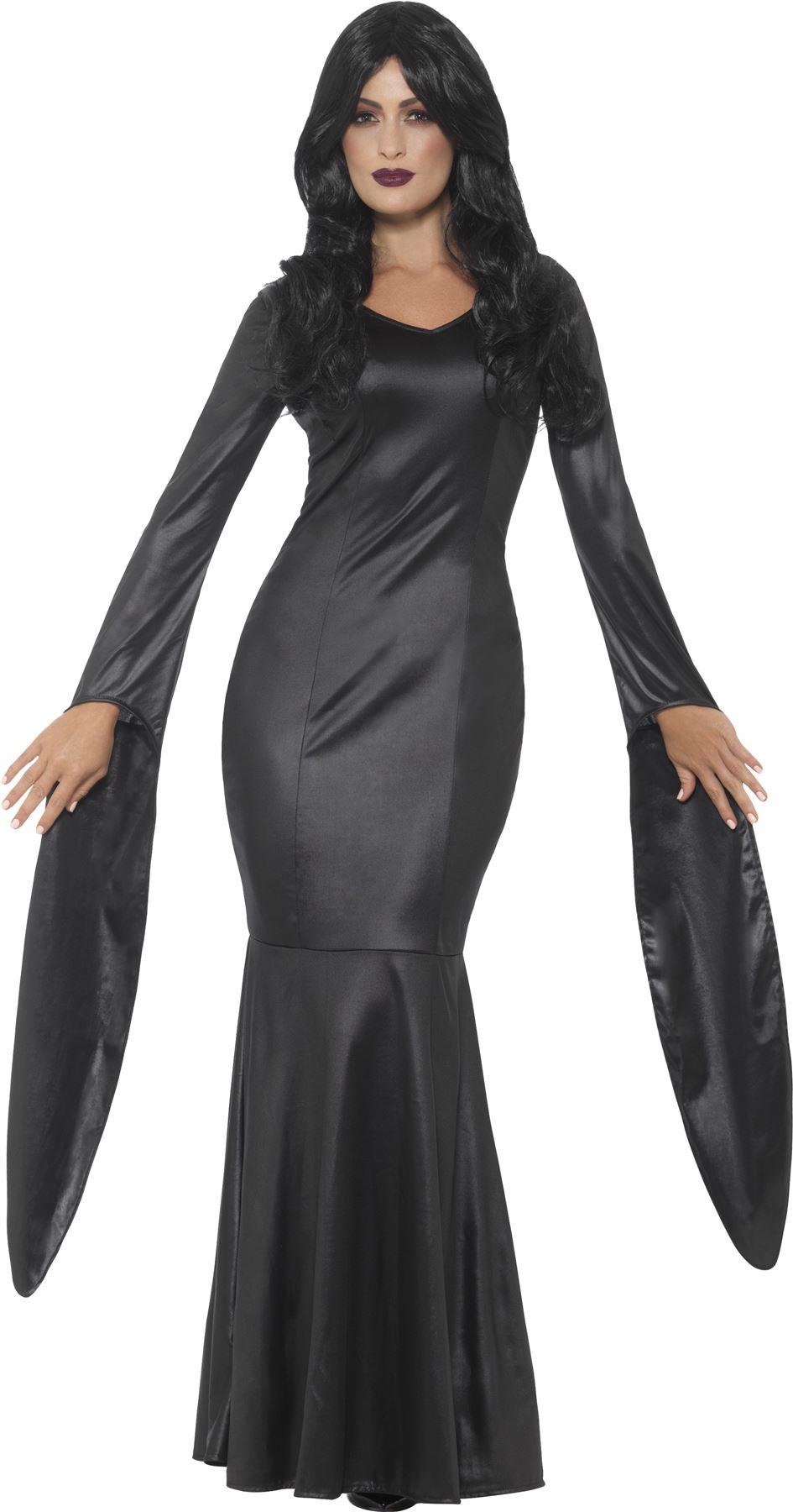 Ladies Vampire Dress Immortal Vampiress Costume Womens Halloween ...