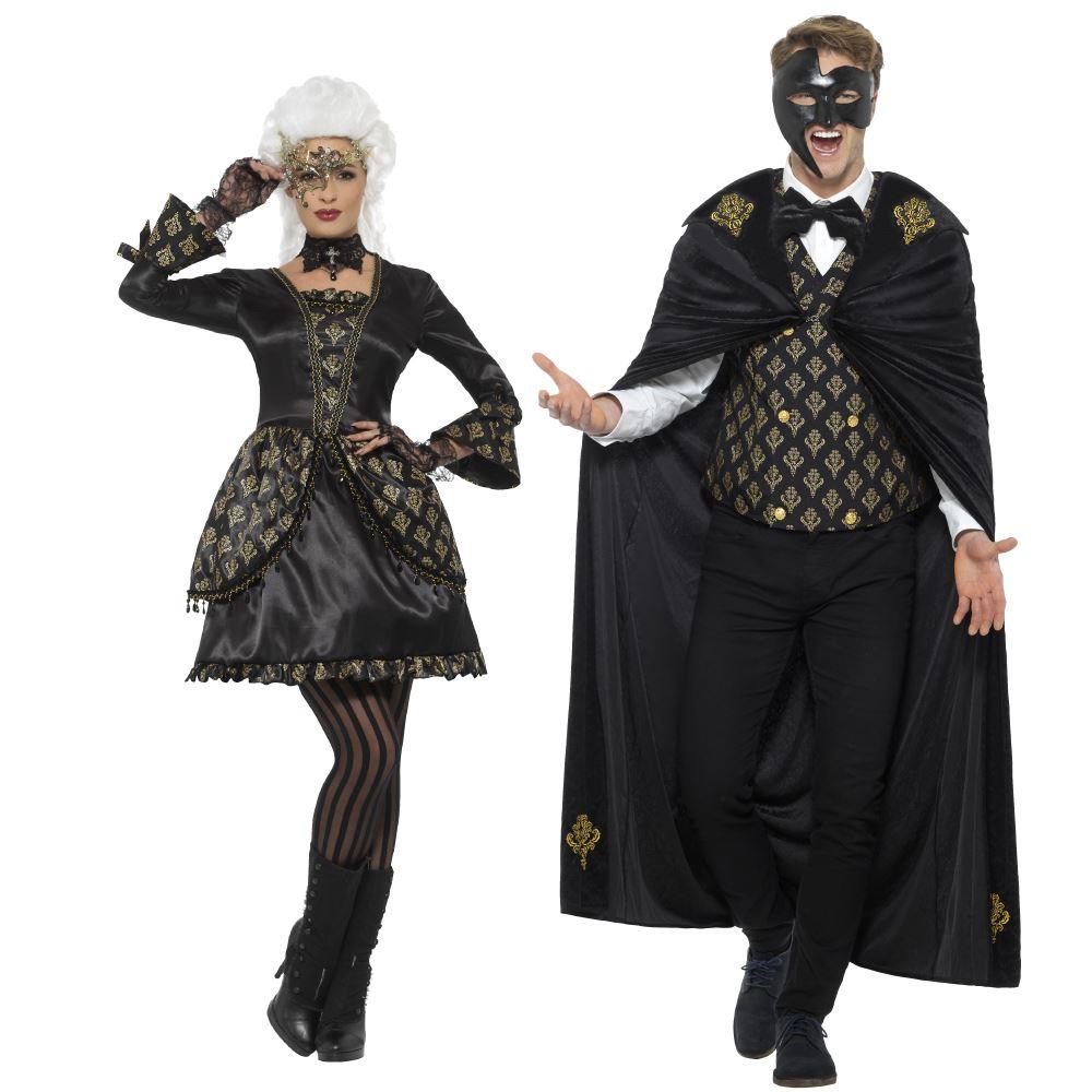 masquerade lady or phantom costume