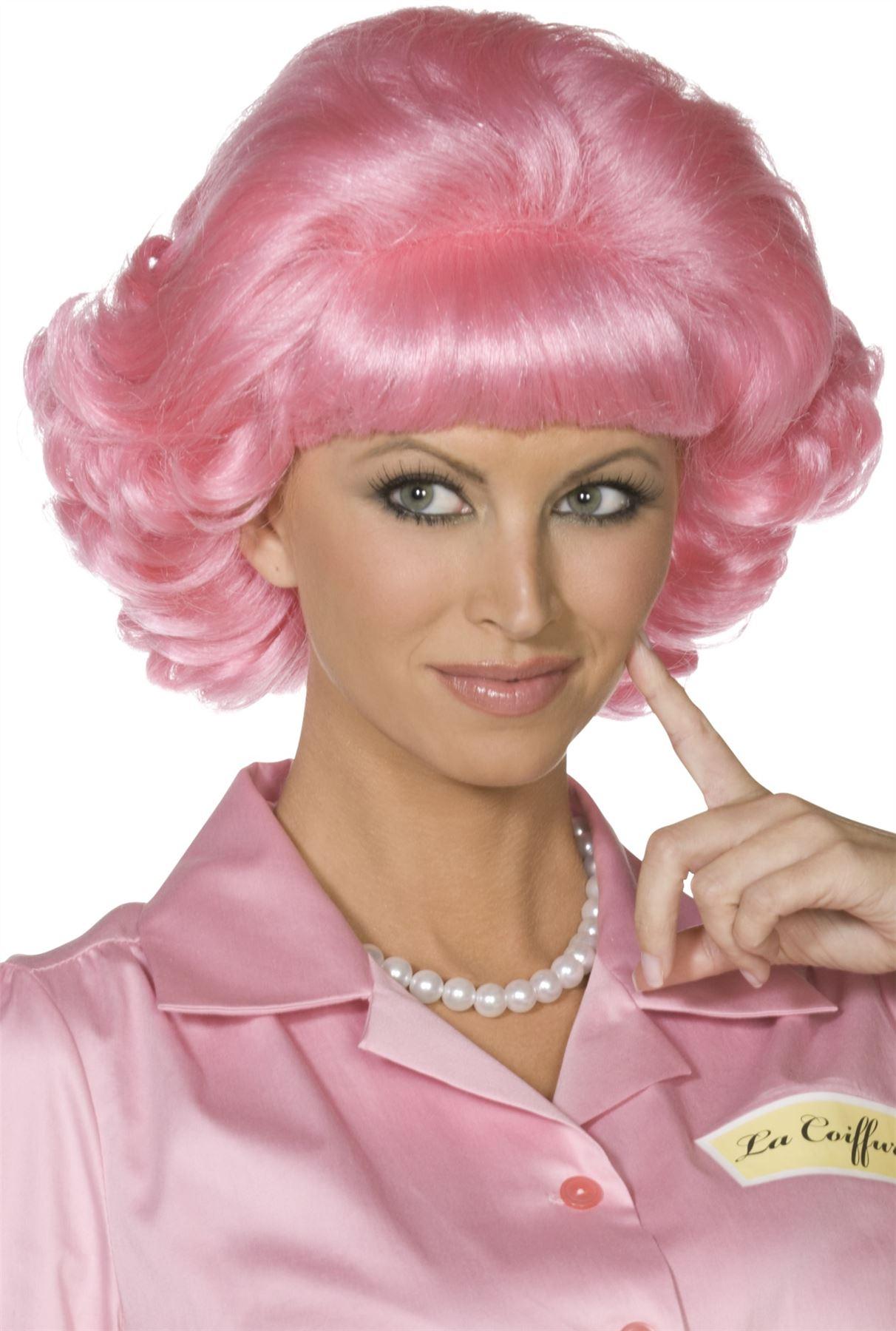 Officiel-Grease-Pink-Ladies-veste-de-Smiffys-Sandy-Rizzo-Frenchie-Marty-Jan